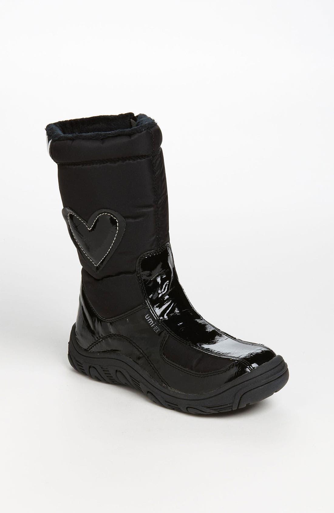 Alternate Image 1 Selected - Umi Waterproof Boot (Toddler, Little Kid & Big Kid)