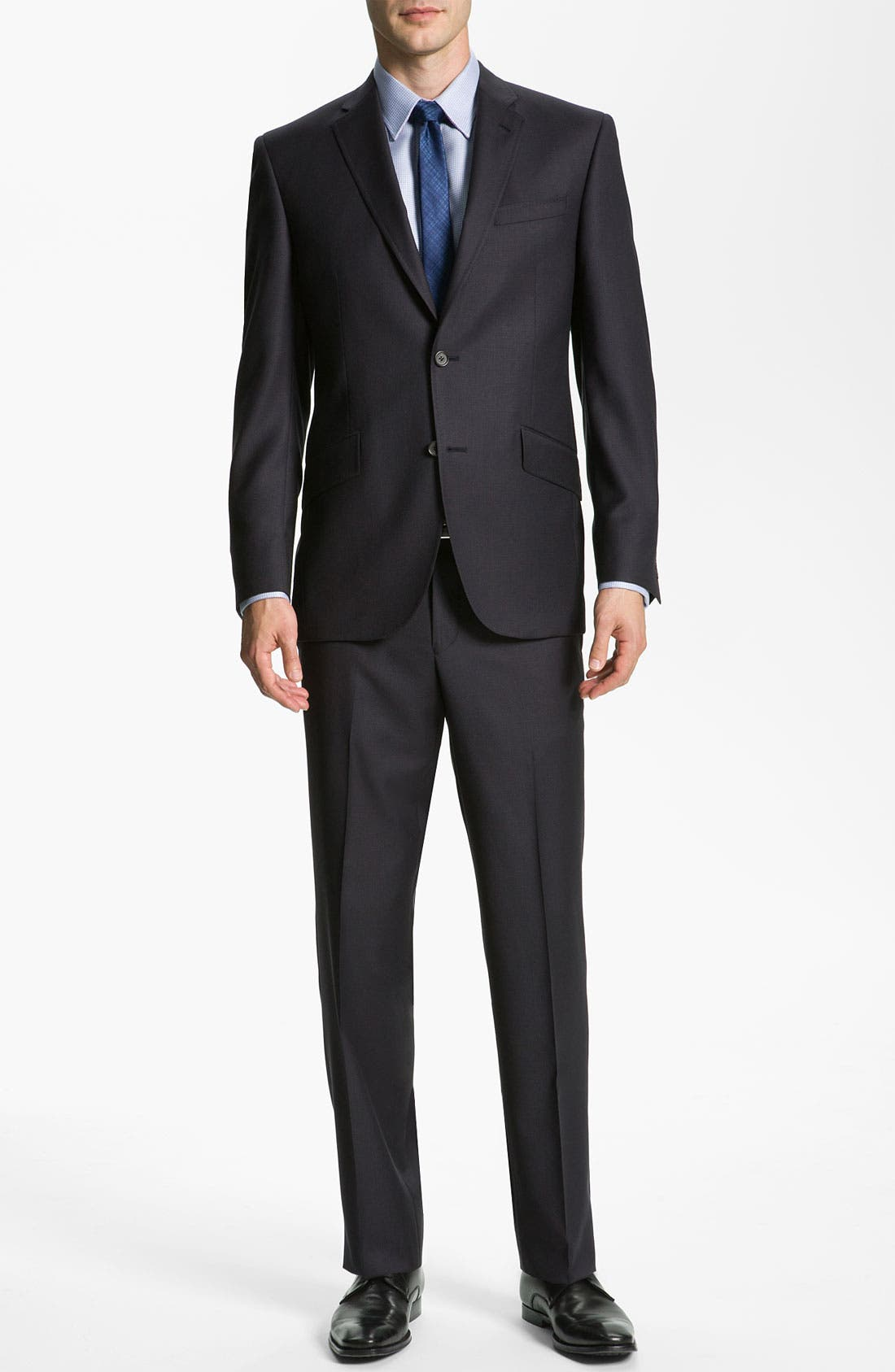 Alternate Image 2  - Ted Baker London 'Jones' Trim Fit Stripe Suit
