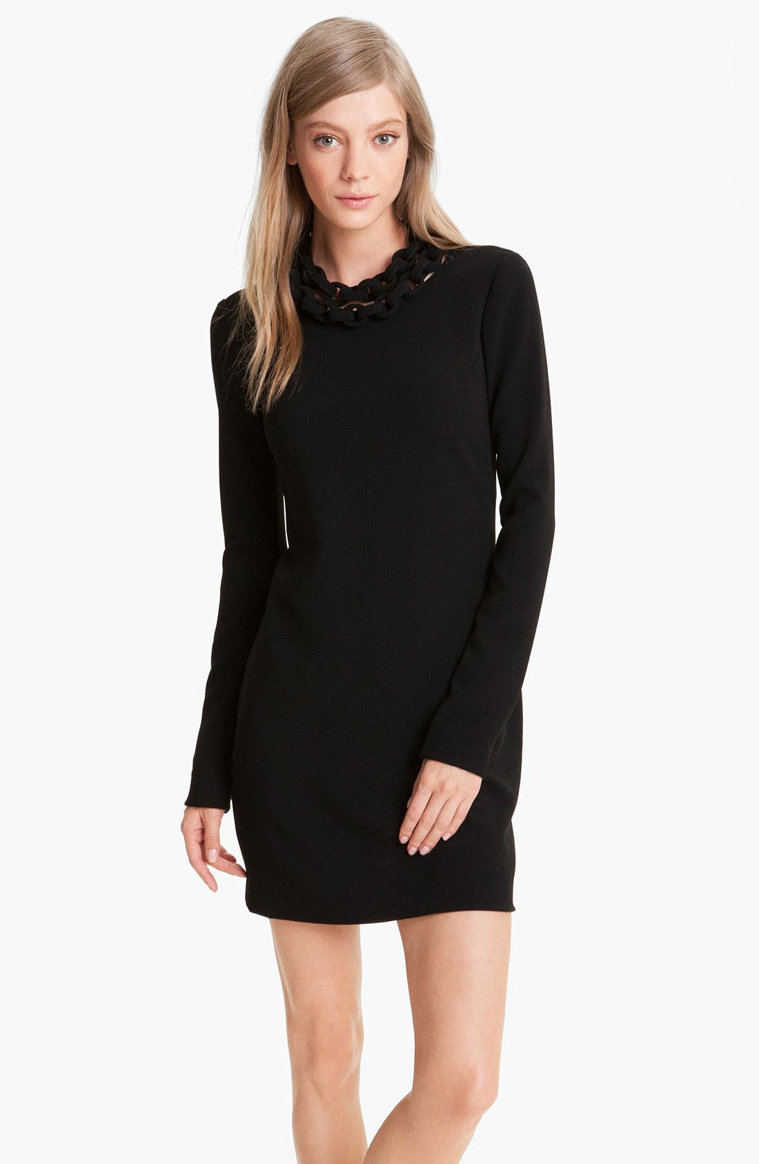 Alternate Image 1 Selected - Diane von Furstenberg 'Giada' Chain Collar Dress
