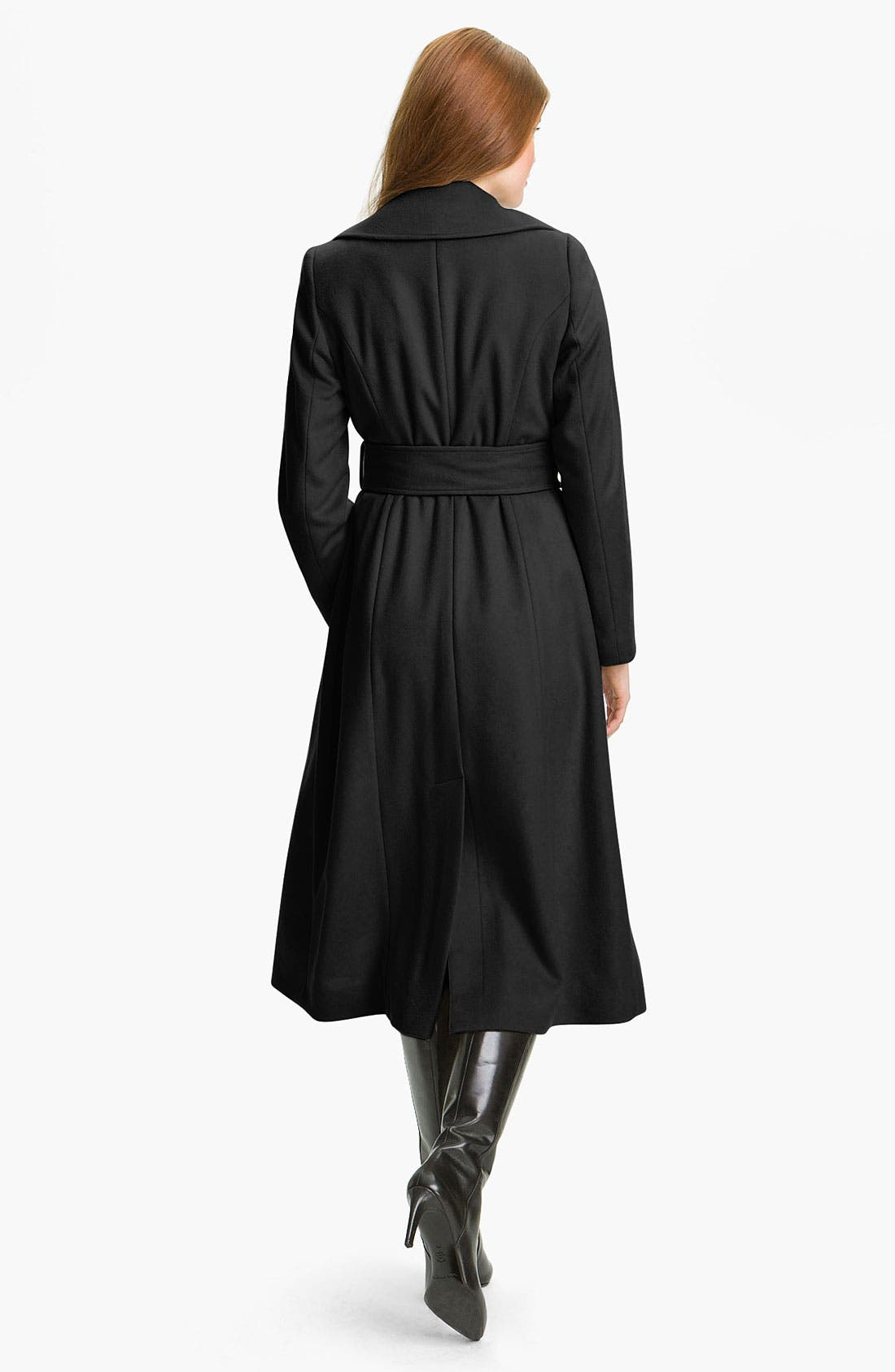 Alternate Image 2  - George Simonton Couture Long Wrap Coat