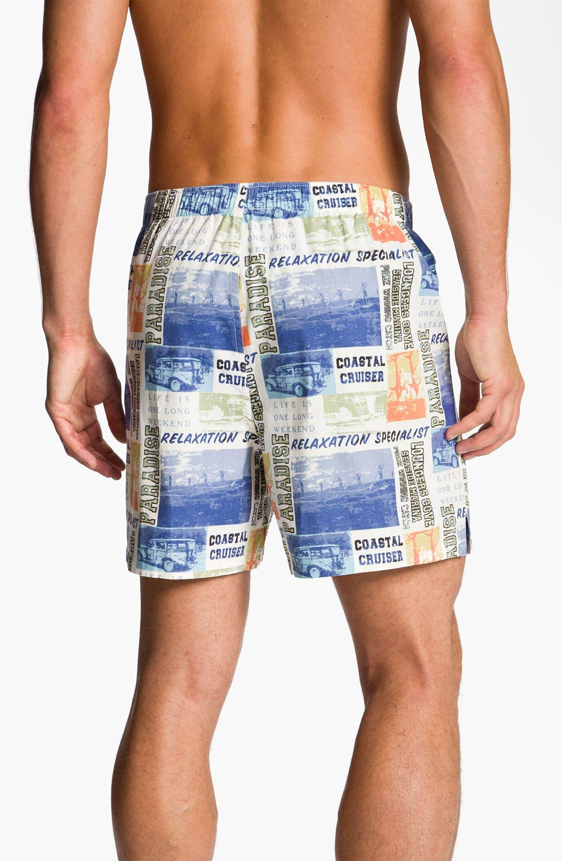 Alternate Image 2  - Tommy Bahama 'World Traveler' Boxers