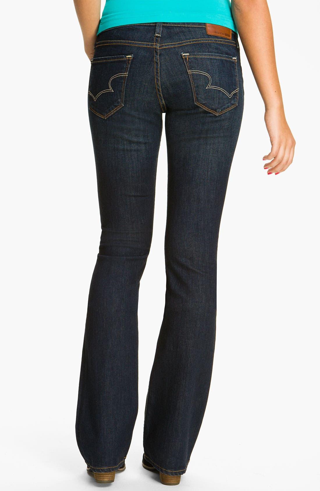 Alternate Image 2  - Big Star 'Hazel' Slim Bootcut Jeans (Three Year Dust) (Juniors)