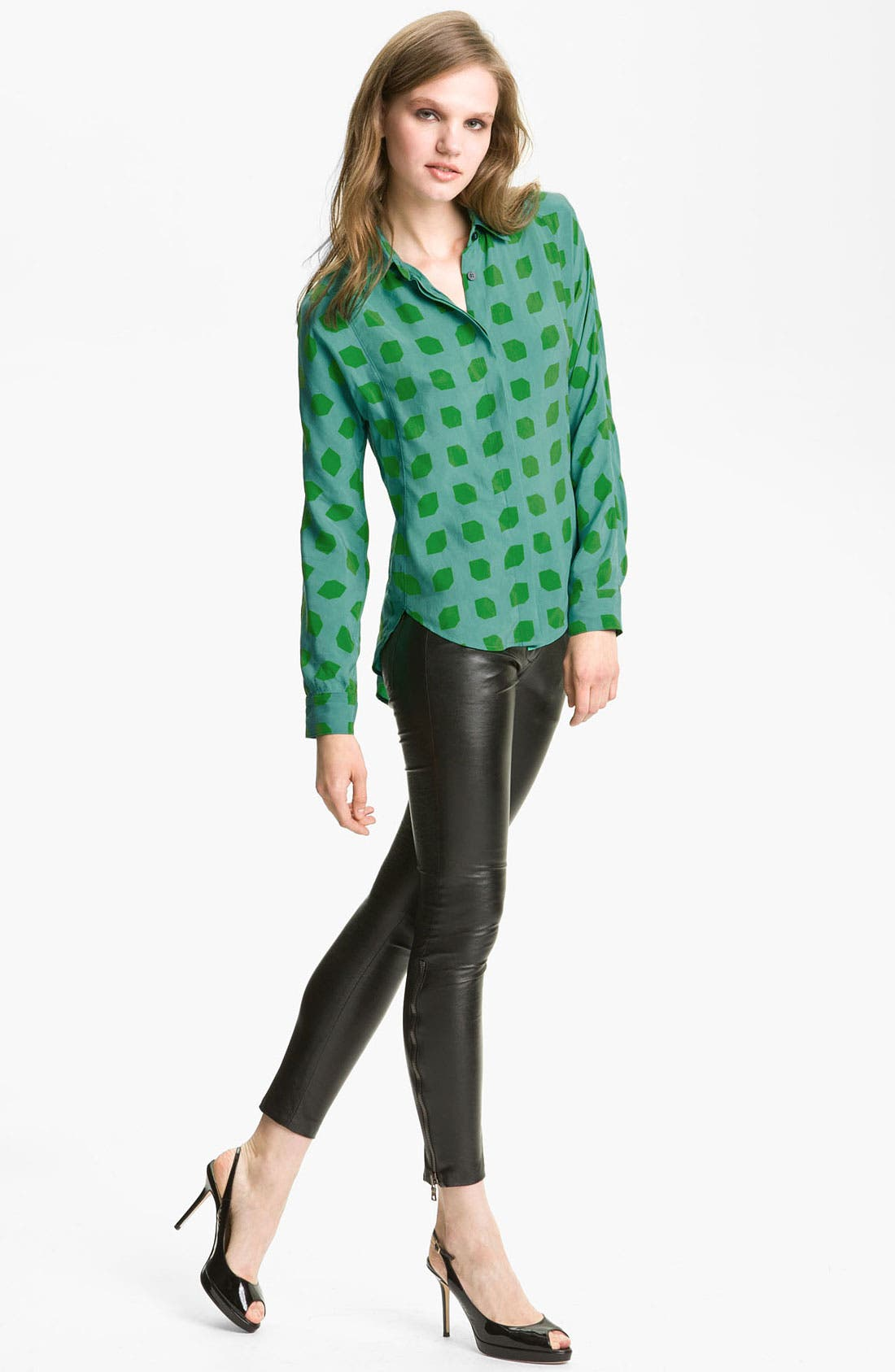 Alternate Image 1 Selected - Kelly Wearstler 'Hutton' Print Shirt