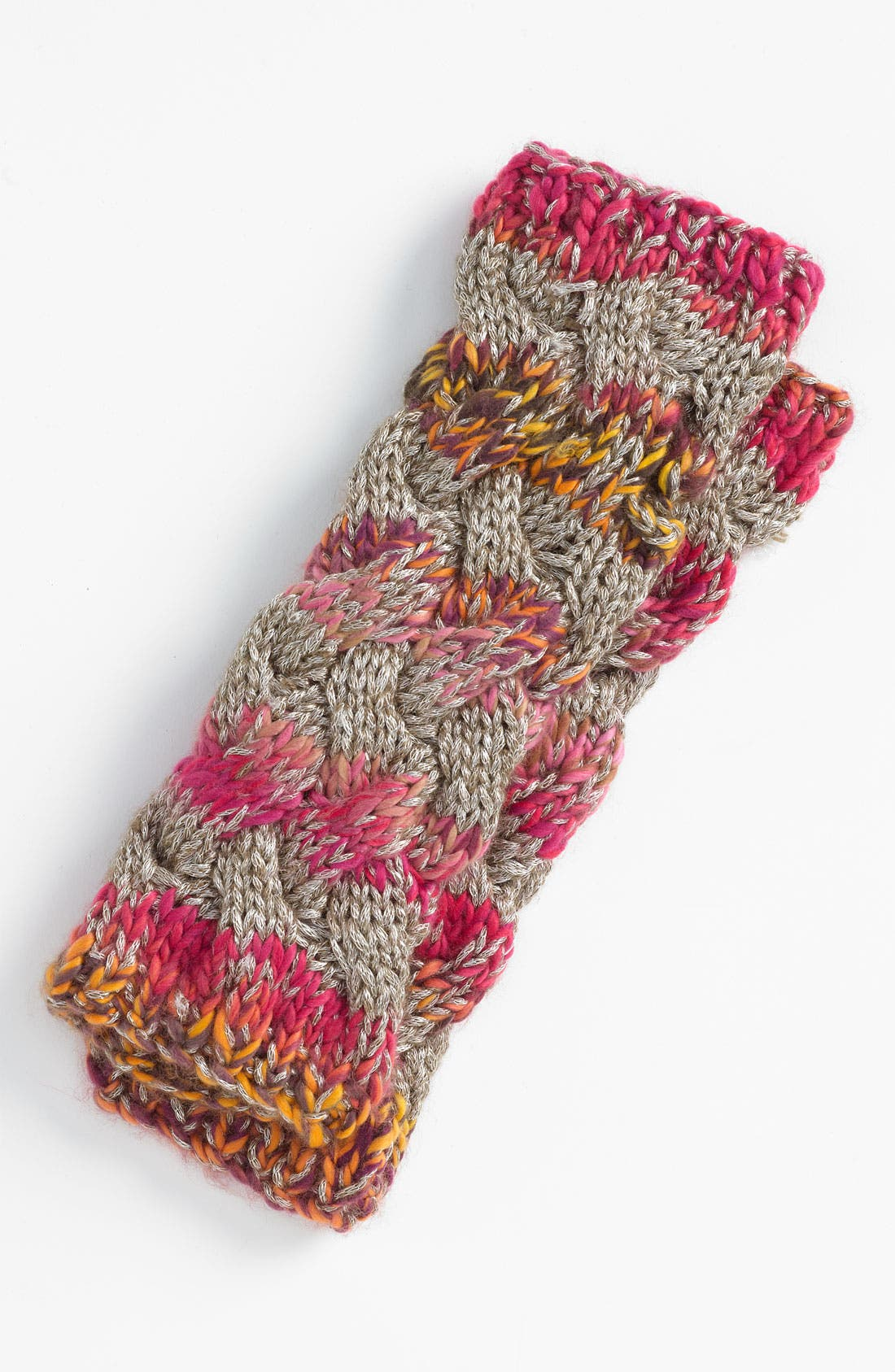 Alternate Image 1 Selected - Laundry by Shelli Segal Cable Knit Arm Warmers