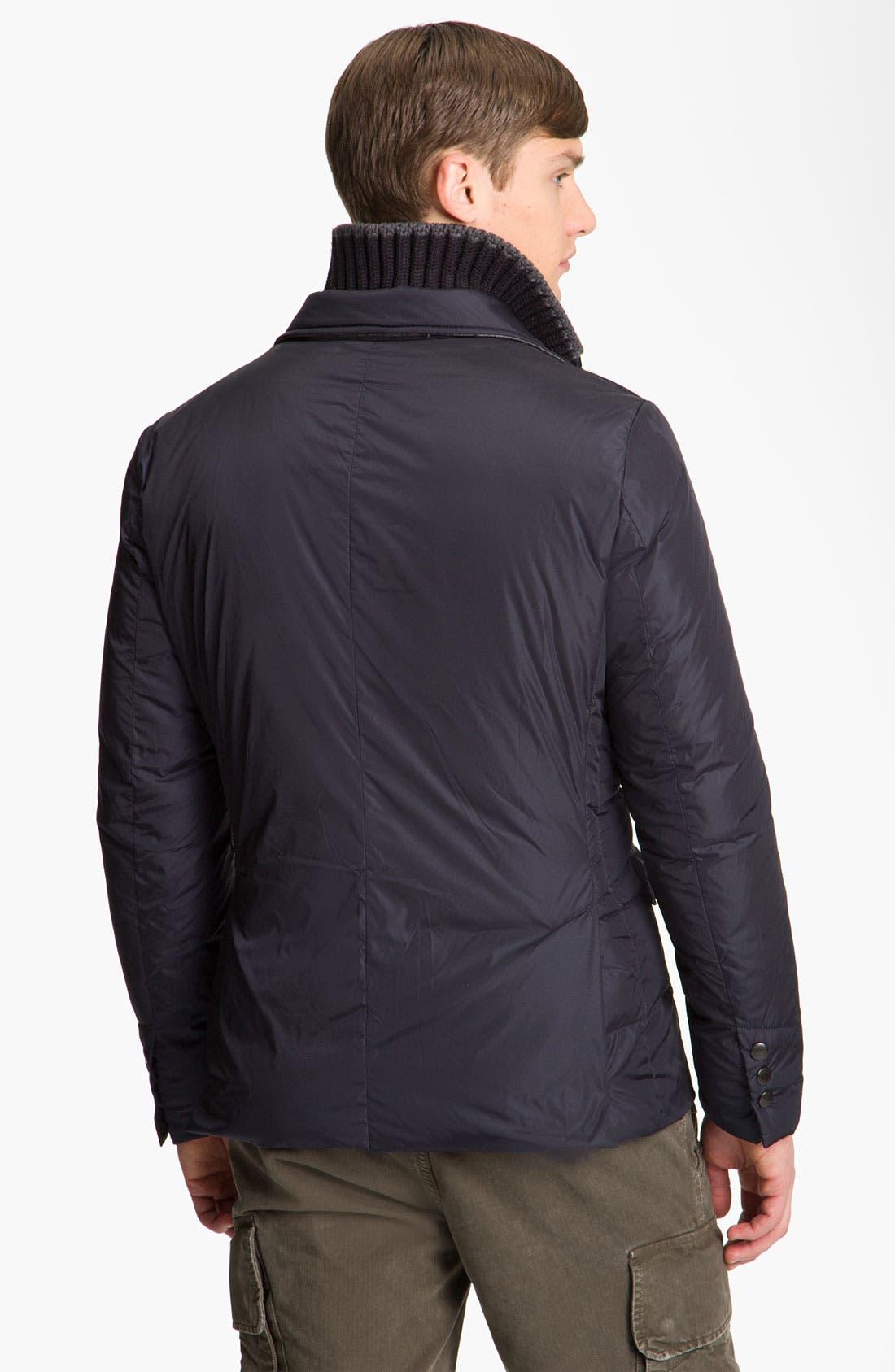 Alternate Image 2  - Moncler 'Barbuda' Quilted Blazer Jacket