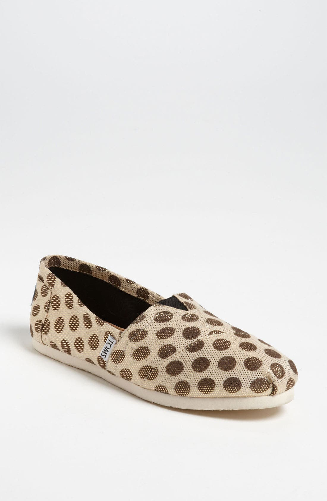 Main Image - TOMS 'Classic - Metallic Dot' Slip-On (Women)