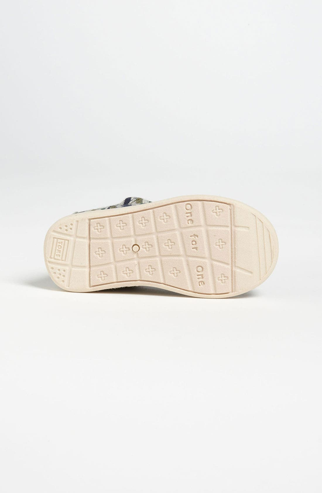 Alternate Image 4  - TOMS 'Cordones Tiny - Renato' Slip-On (Baby, Walker & Toddler)