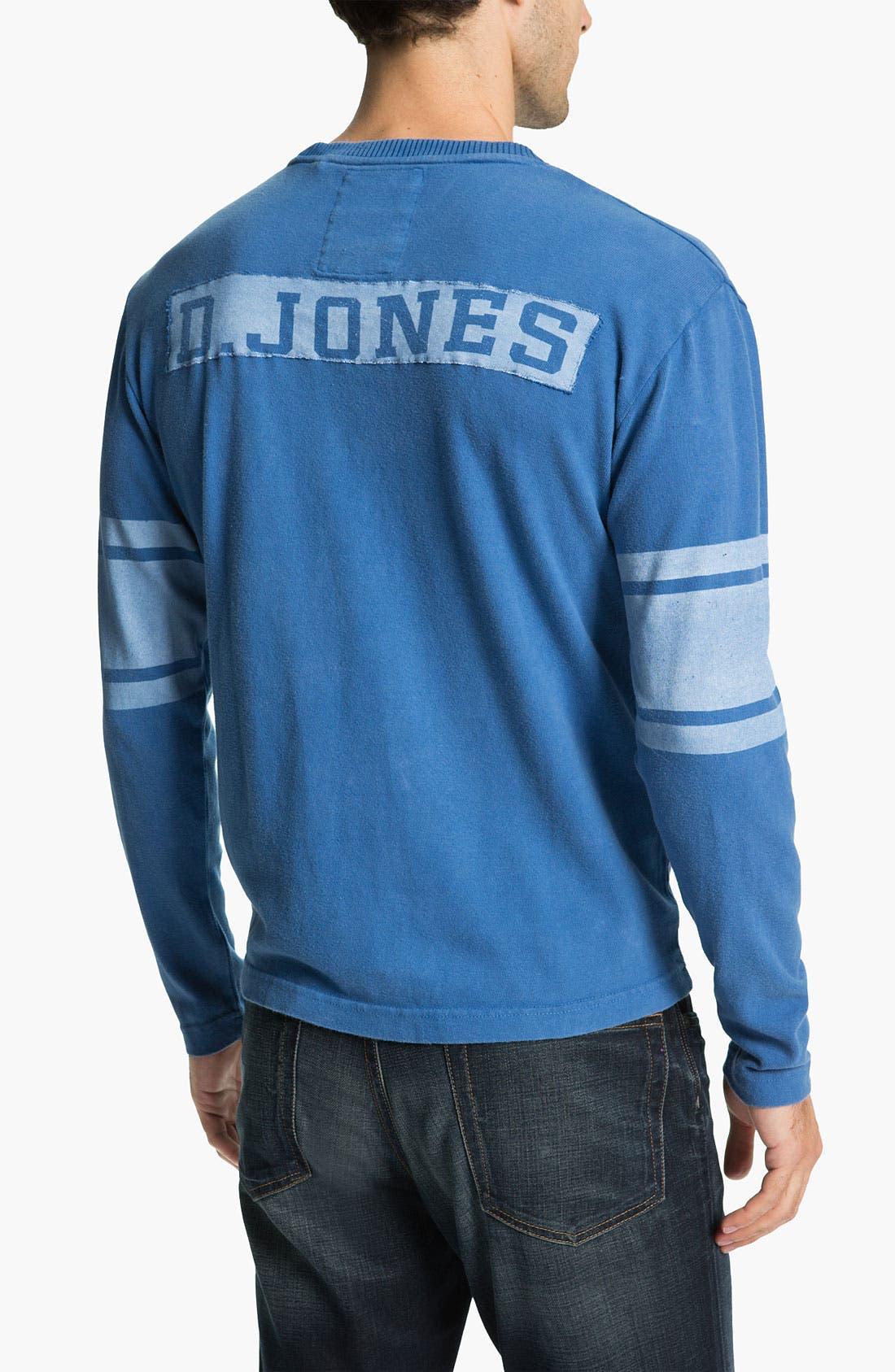 Alternate Image 2  - Red Jacket 'Deacon Jones - Bulldog' Long Sleeve T-Shirt