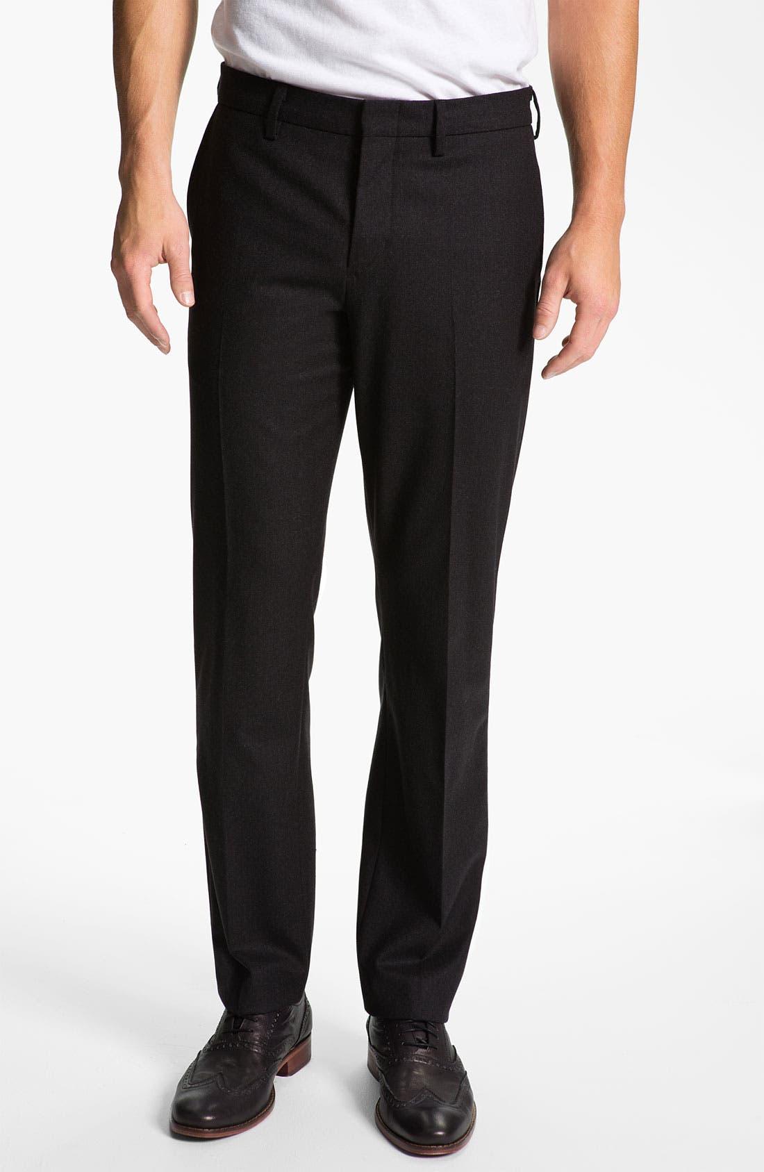 Alternate Image 1 Selected - Vince Slim Straight Leg Trousers