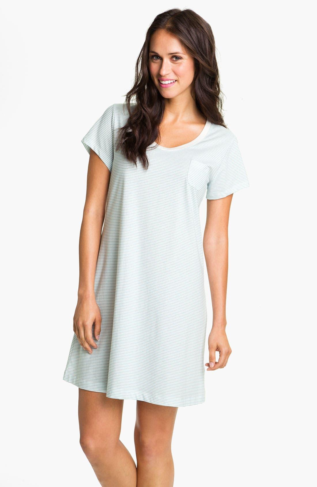 Main Image - Carole Hochman Designs Short Sleeve Sleep Shirt