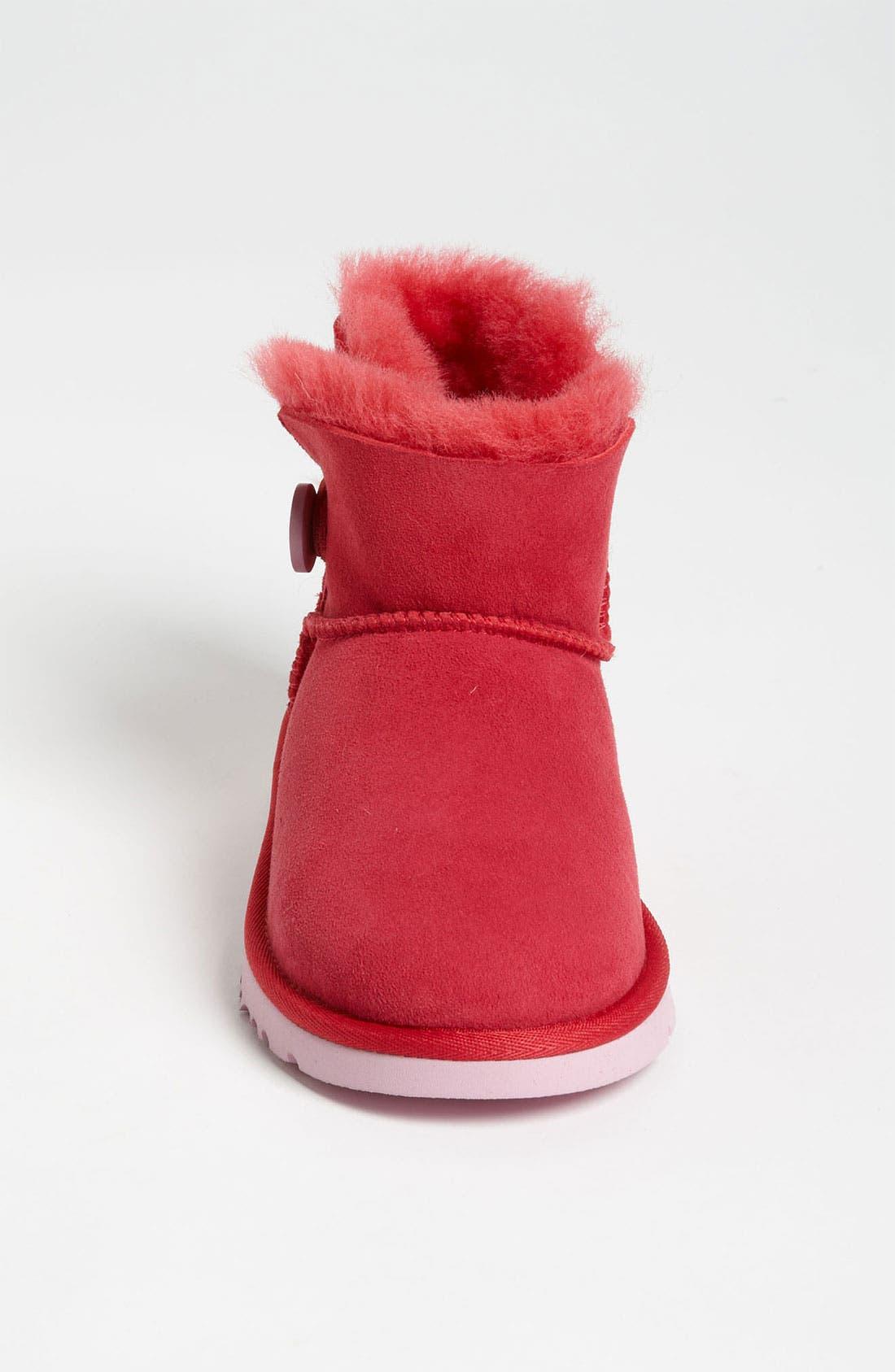 Alternate Image 3  - UGG® Australia 'Mini Bailey' Button Boot (Walker, Toddler, Little Kid & Big Kid)