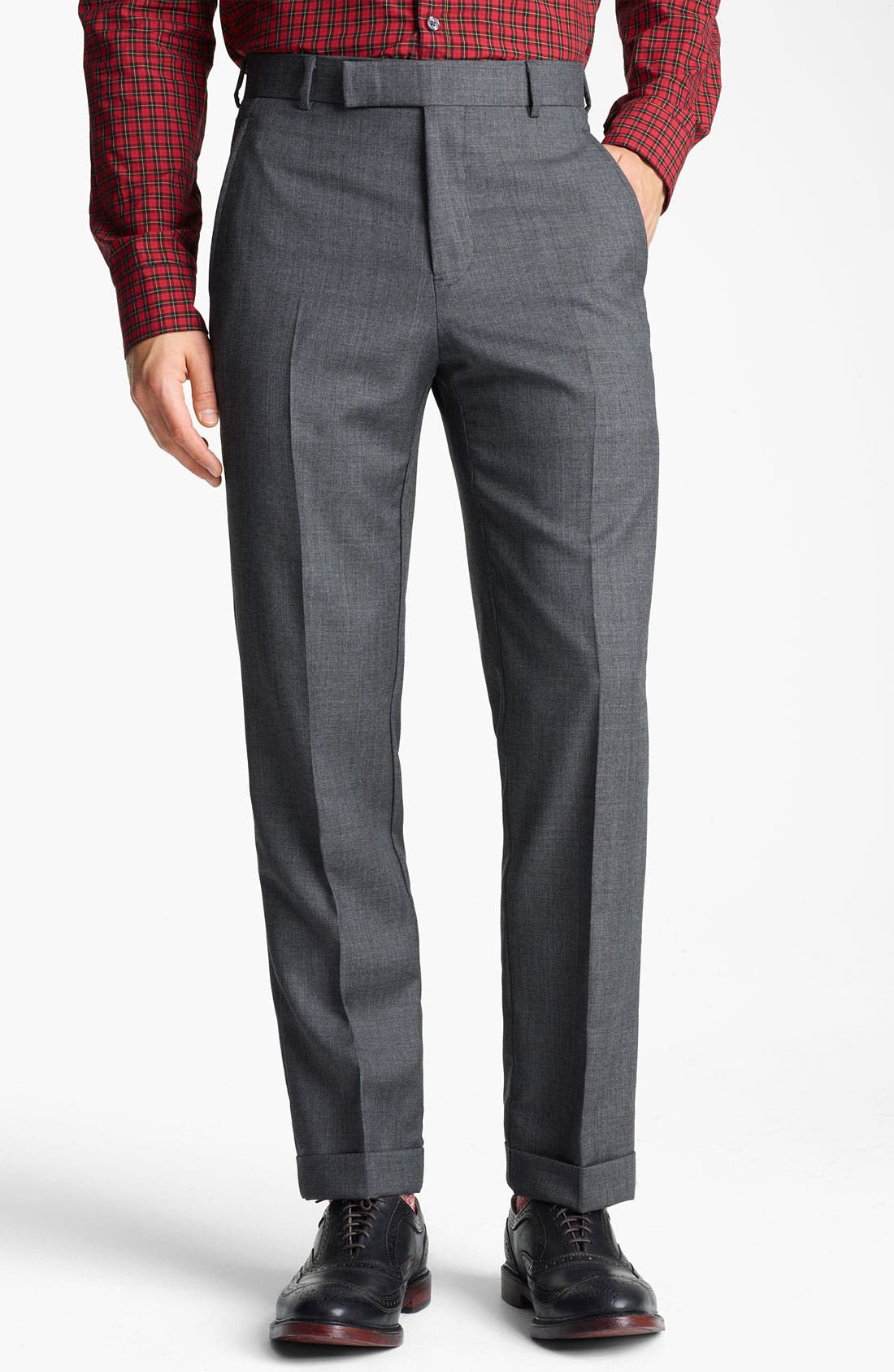 Alternate Image 4  - Billy Reid 'Campbell Nailhead - Heirloom Collection' Wool Suit