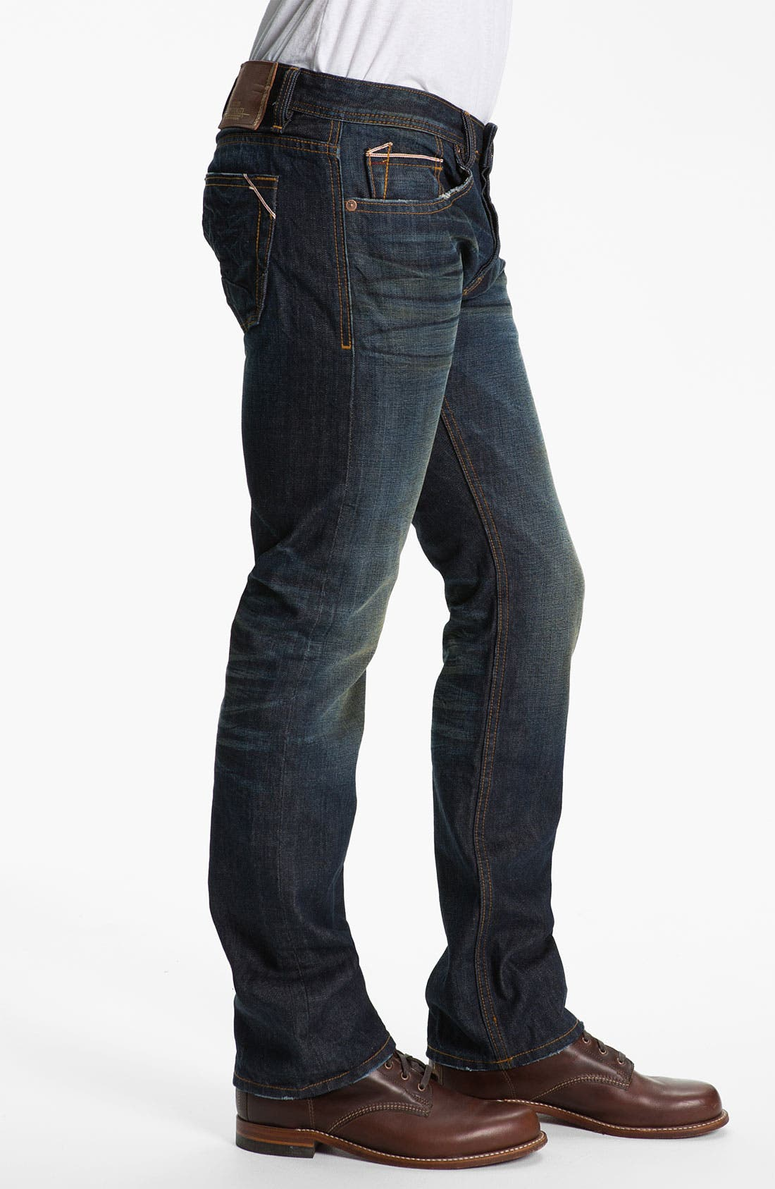 Alternate Image 3  - Cult of Individuality 'Revel' Straight Leg Jeans