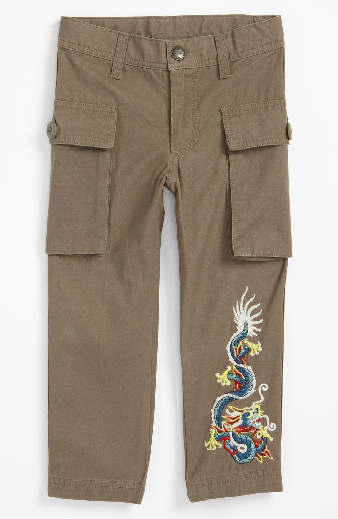 Alternate Image 1 Selected - Tea Collection 'Dragon' Pants (Toddler)