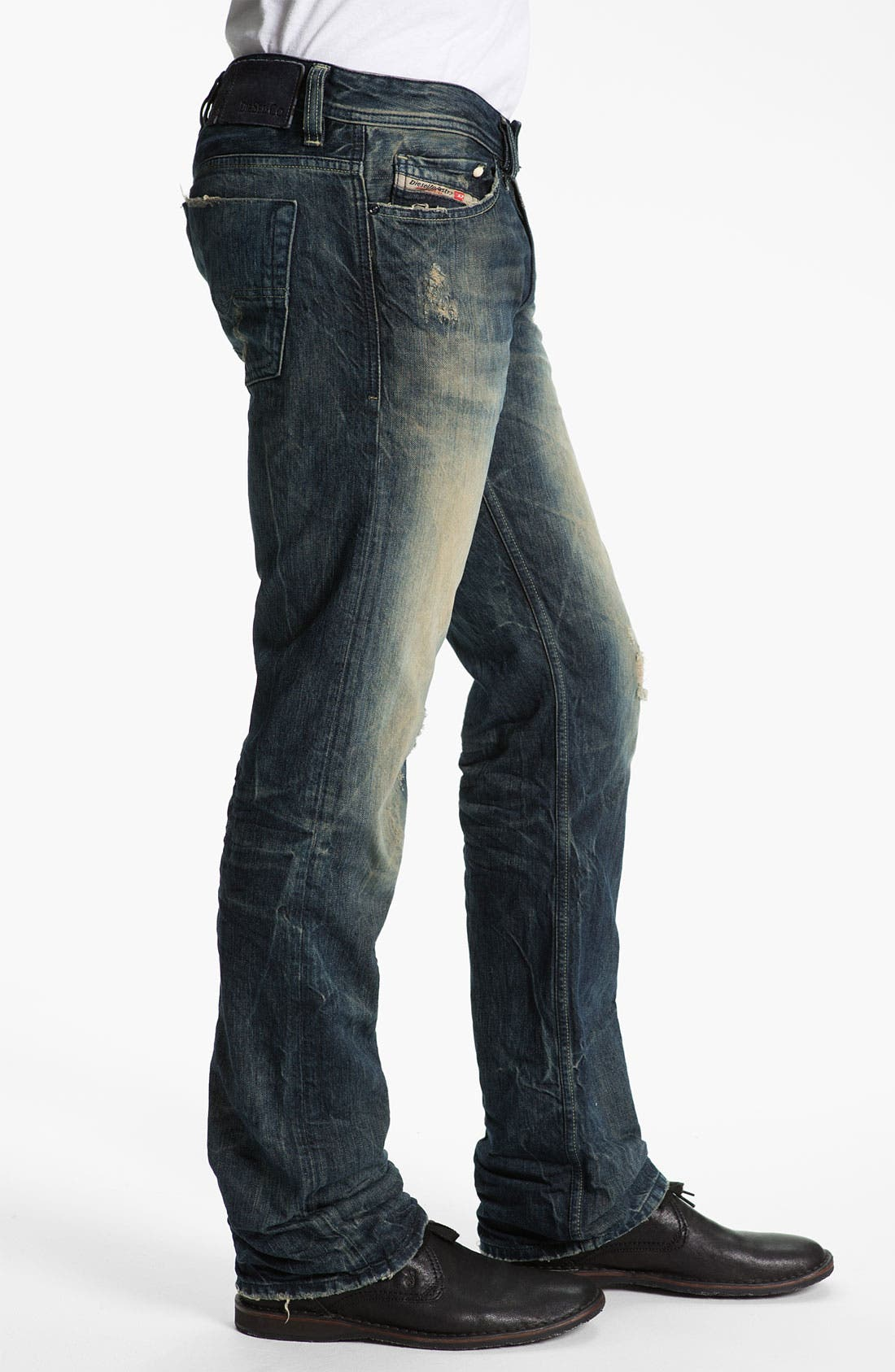 Alternate Image 3  - DIESEL® 'Viker' Straight Leg Jeans