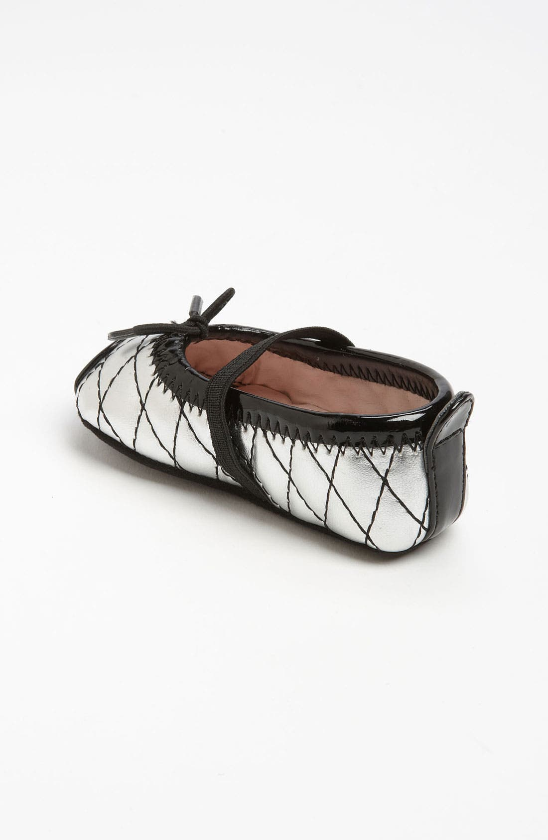 Alternate Image 2  - Stuart Weitzman 'Baby Chippy 2' Crib Shoe (Baby)