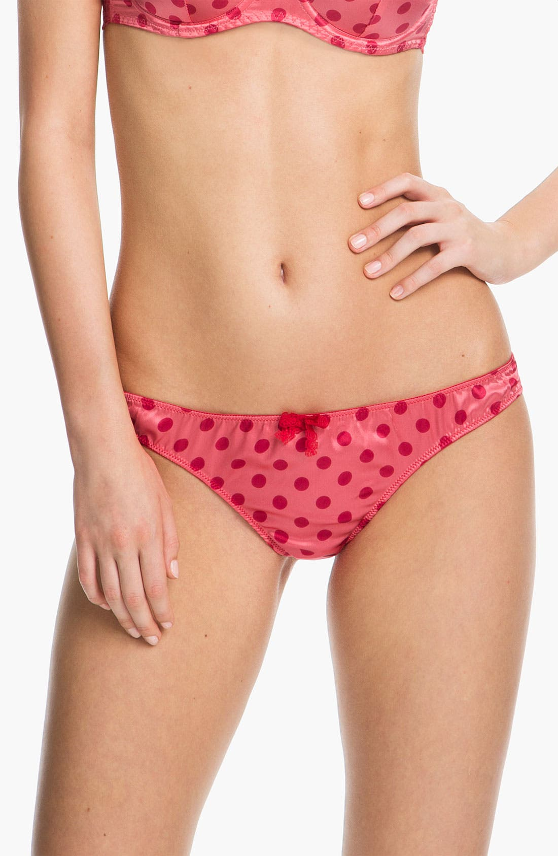 Alternate Image 1 Selected - Mimi Holliday 'Confetti Bomb' Bow Thong