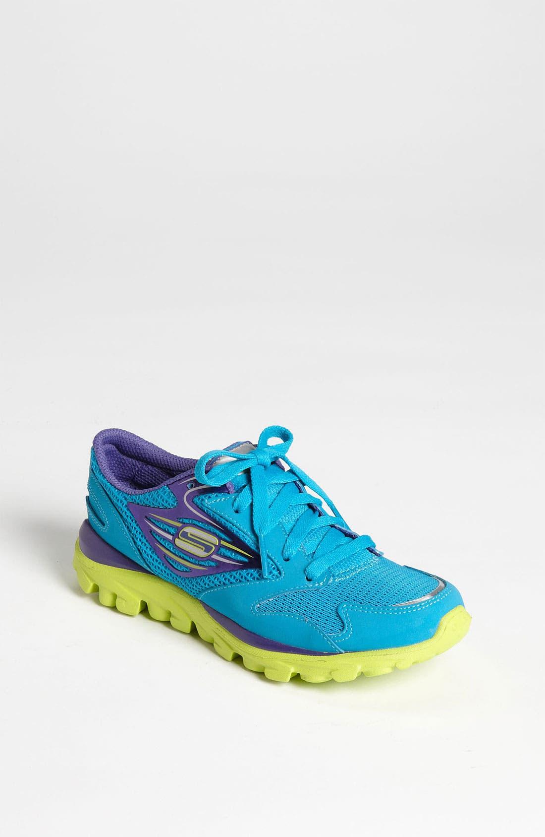 Alternate Image 1 Selected - SKECHERS 'Go Run' Sneaker (Toddler, Little Kid & Big Kid)
