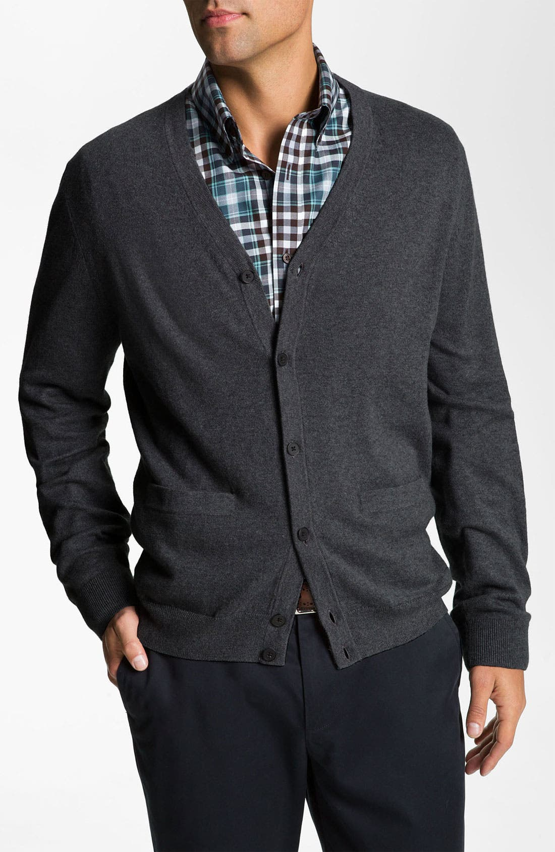 Main Image - Nordstrom Cotton & Cashmere Cardigan