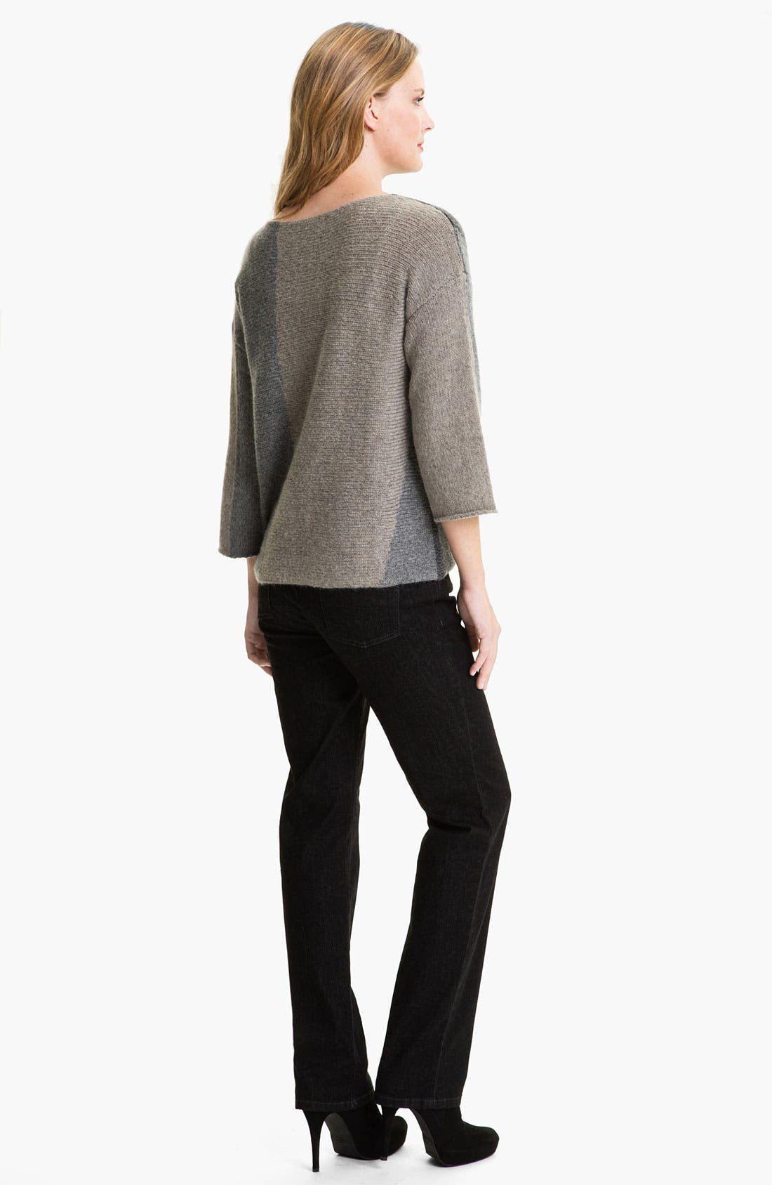 Alternate Image 5  - Eileen Fisher Colorblocked Sweater