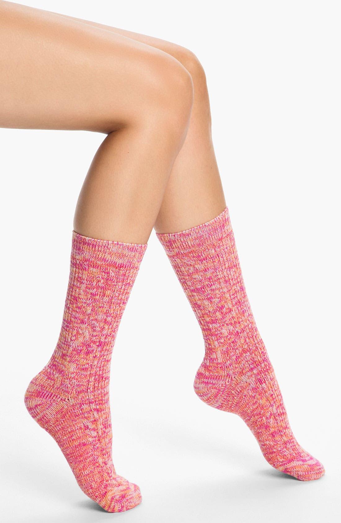 Alternate Image 1 Selected - Make + Model 'Color Twist' Lounge Socks