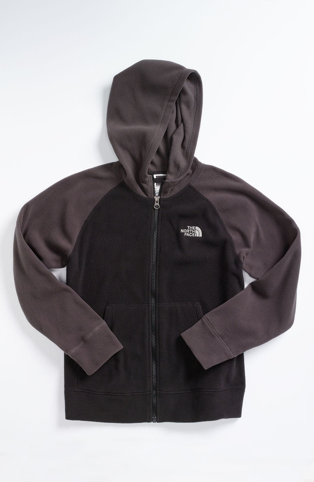 Alternate Image 1 Selected - The North Face 'Glacier' Full Zip Hoodie (Big Boys)