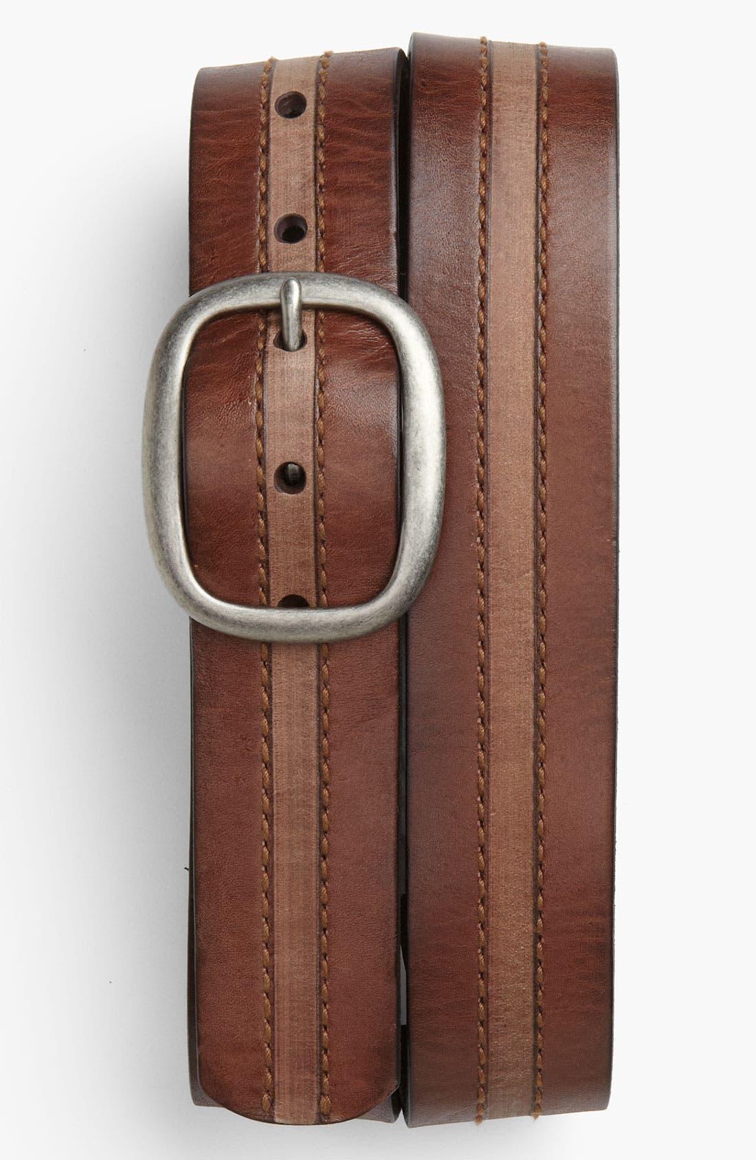 Alternate Image 1 Selected - Tommy Bahama 'Wyatt' Leather Belt
