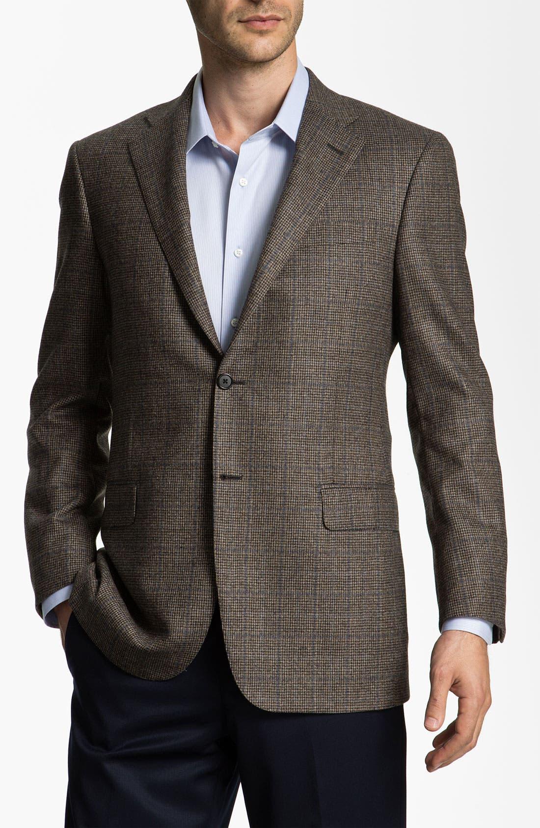 Alternate Image 1 Selected - Hickey Freeman Plaid Sportcoat