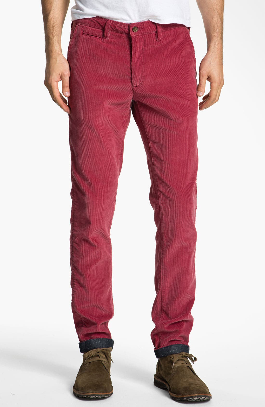 Alternate Image 1 Selected - Ted Baker London 'Pitatro' Slim Fit Corduroy Pants
