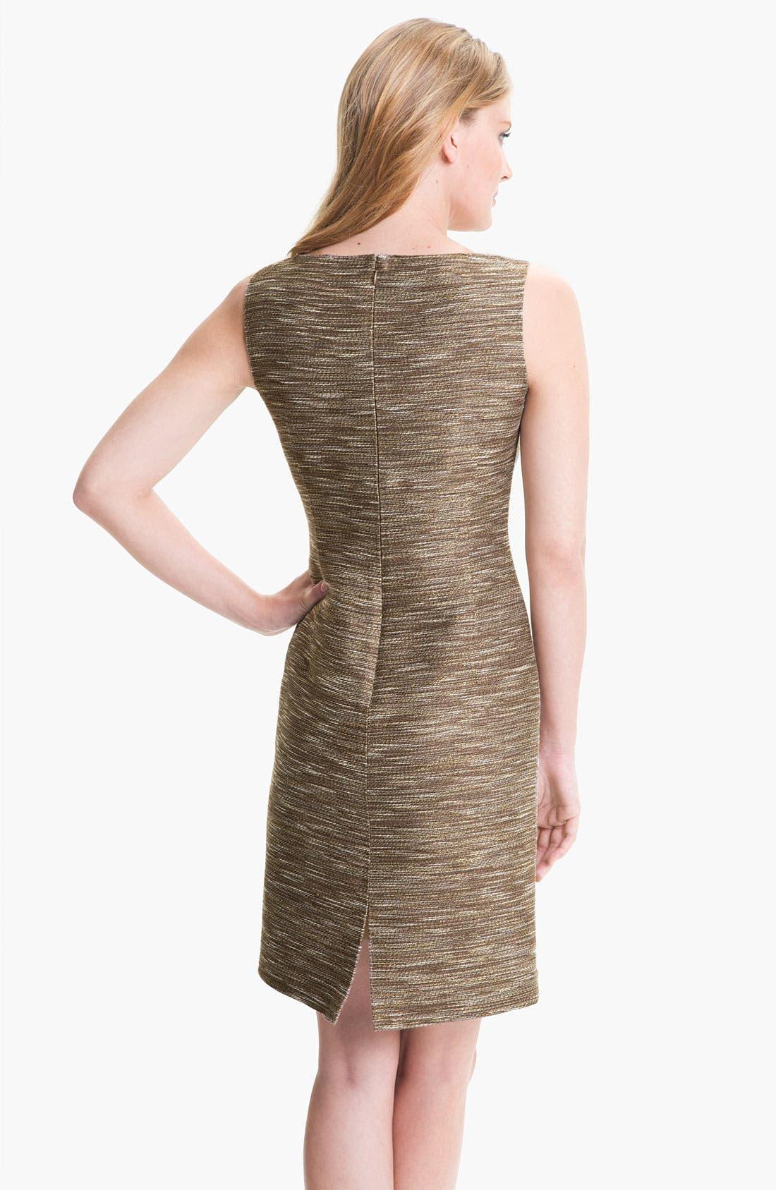 Alternate Image 2  - Lafayette 148 New York 'Faith - Radiant Reed Cloth' Dress