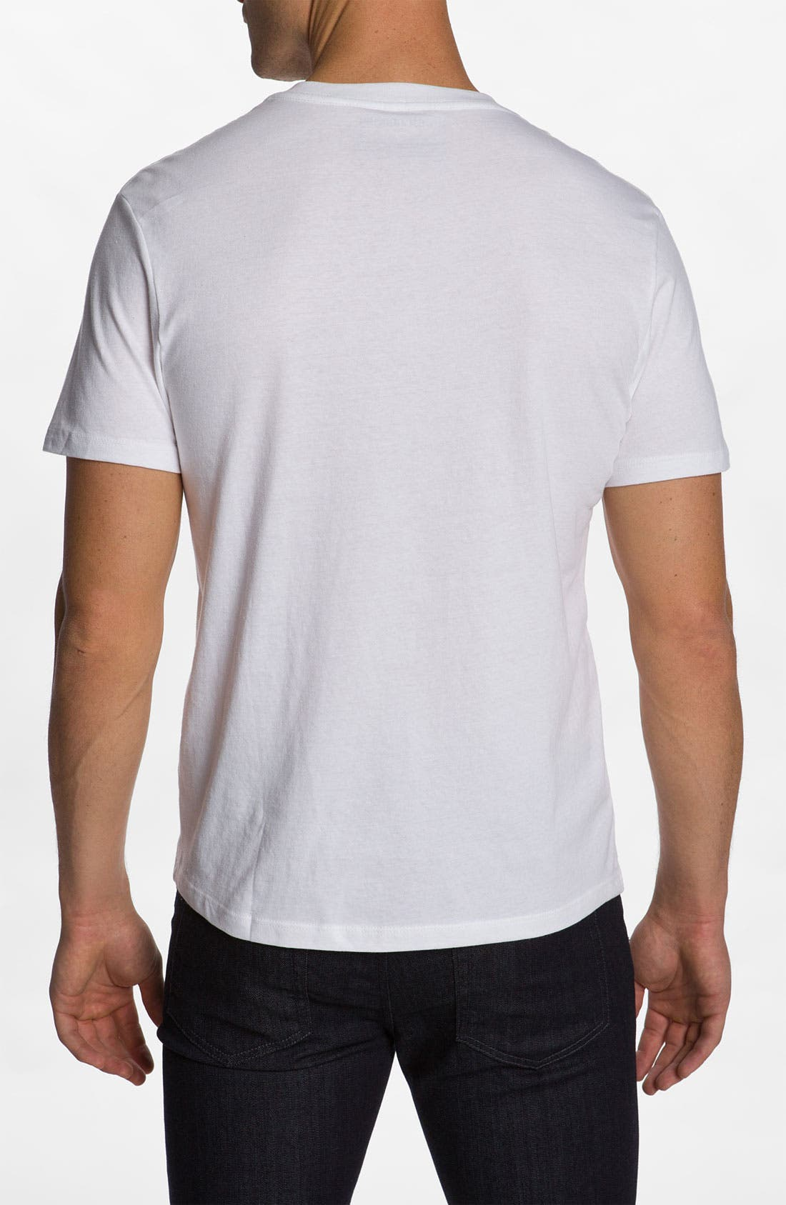 Alternate Image 2  - The Rail Slim Fit V-Neck T-Shirt (2 for $30)