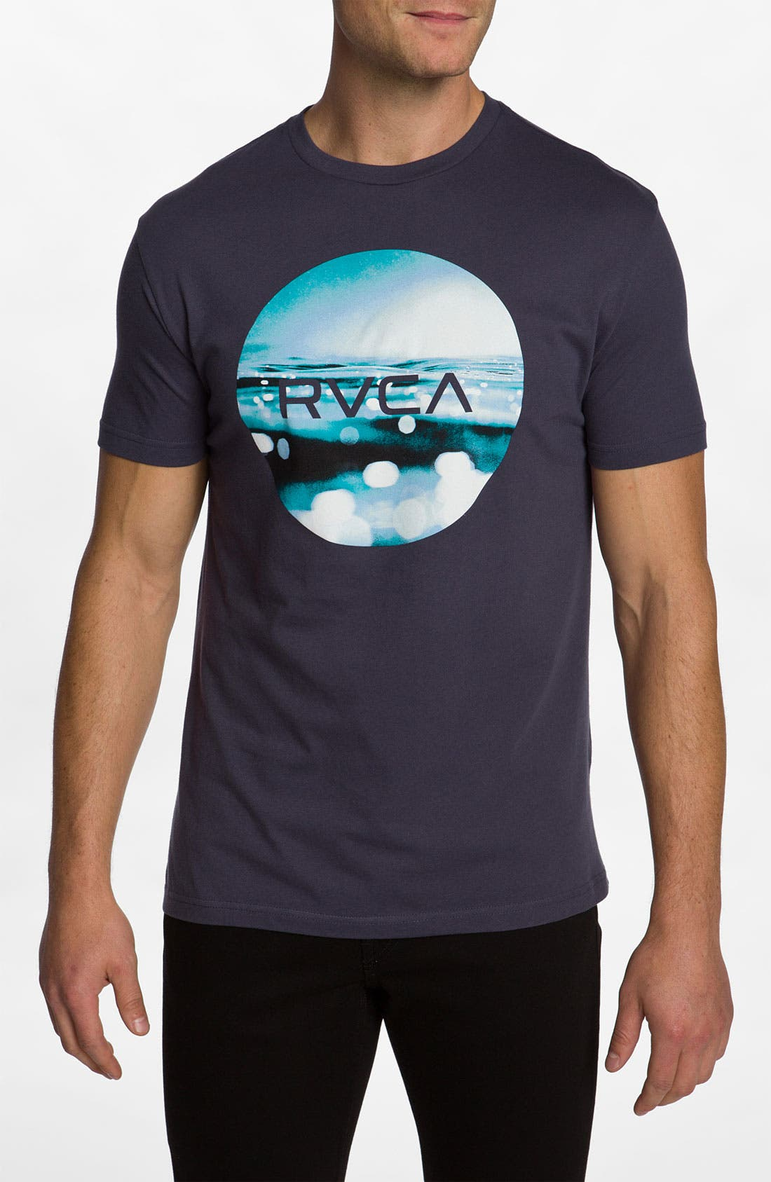 Alternate Image 1 Selected - RVCA 'Upside Down Underwater' T-Shirt