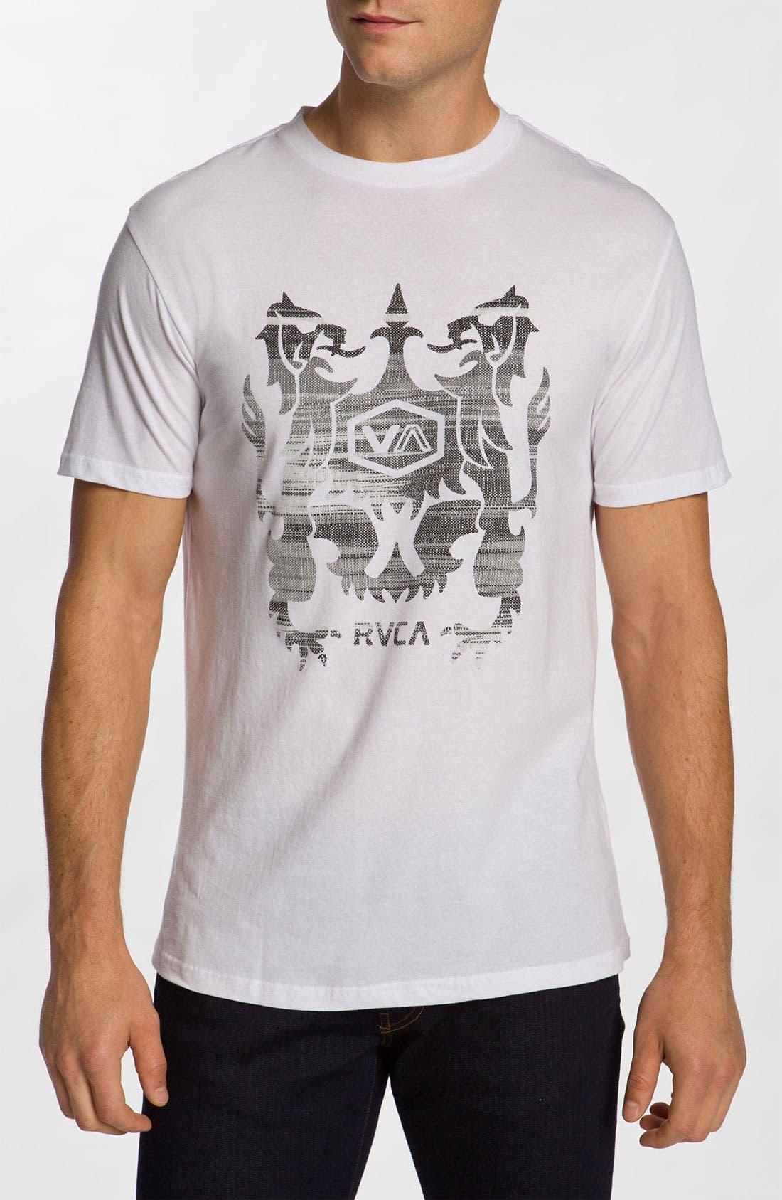 Alternate Image 1 Selected - RVCA 'Eecat Crest' T-Shirt