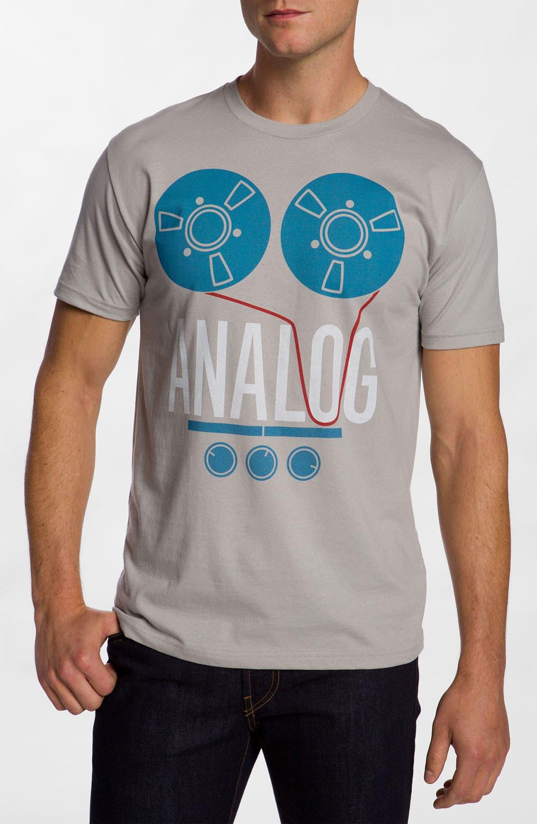 Alternate Image 1 Selected - PalmerCash 'Analog' T-Shirt