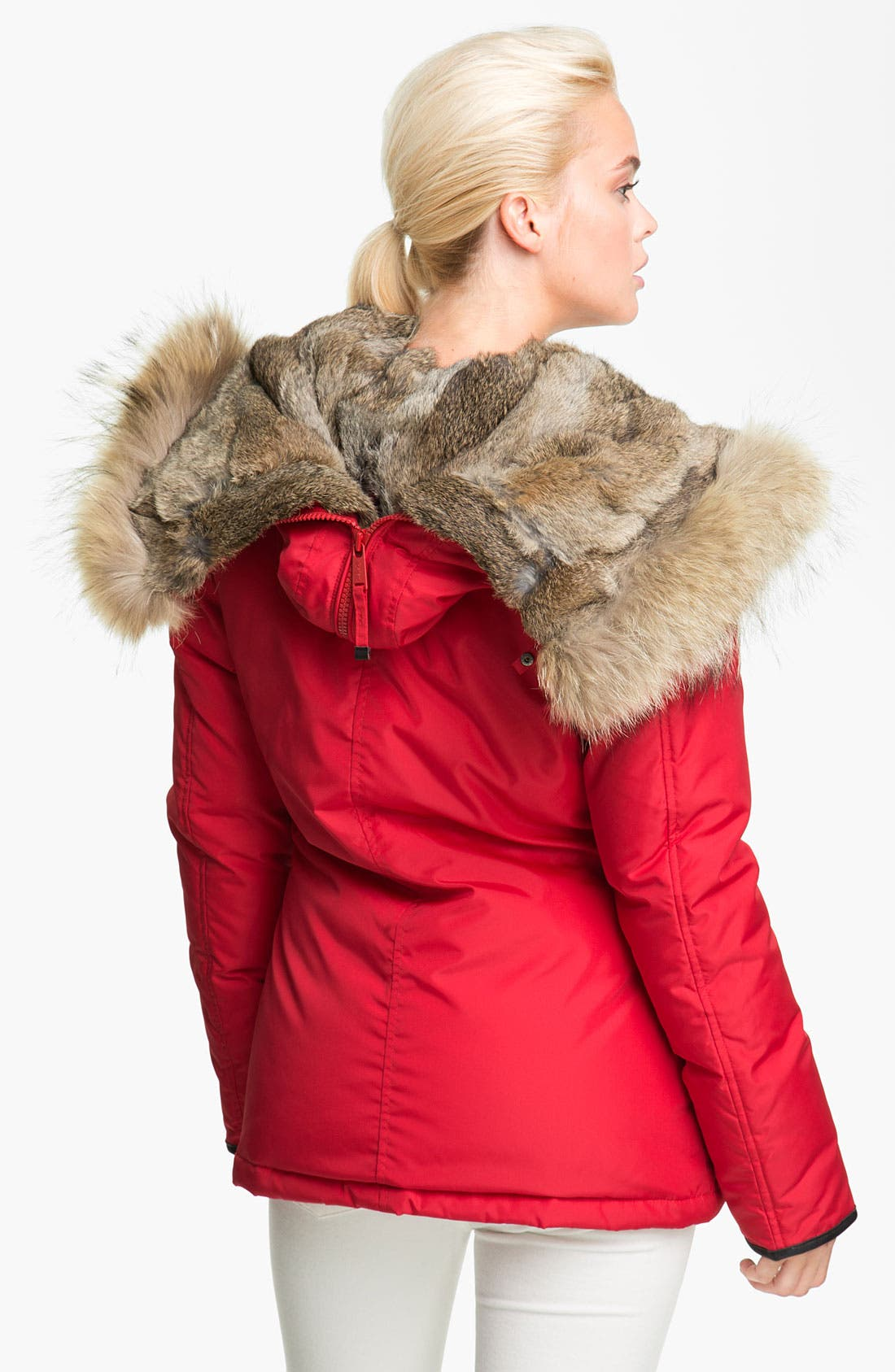 Alternate Image 3  - Pajar 'Kayla' Down Parka with Genuine Rabbit & Coyote Fur