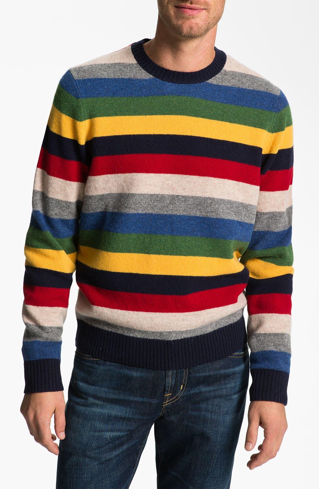 Alternate Image 1 Selected - Brooks Brothers Wool Crewneck Sweater