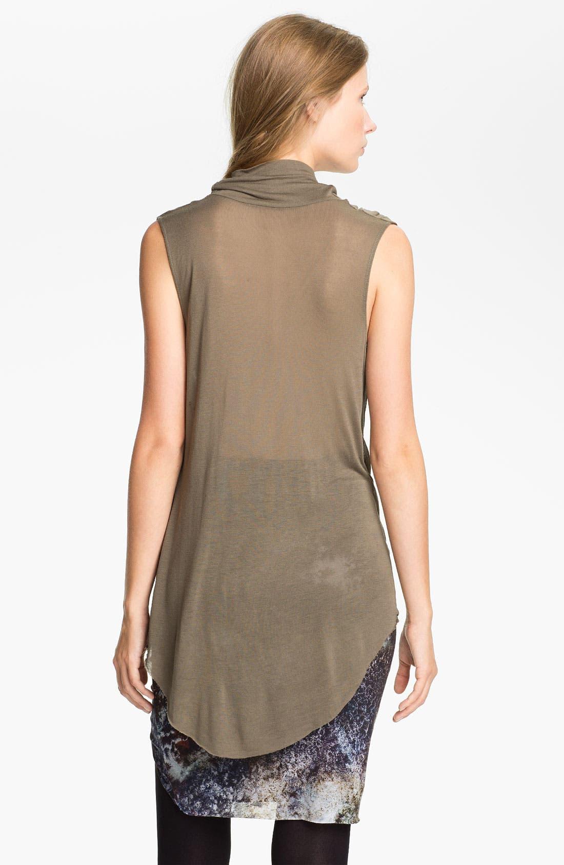 Alternate Image 2  - Helmut Lang 'Slack' Draped Jersey Tunic