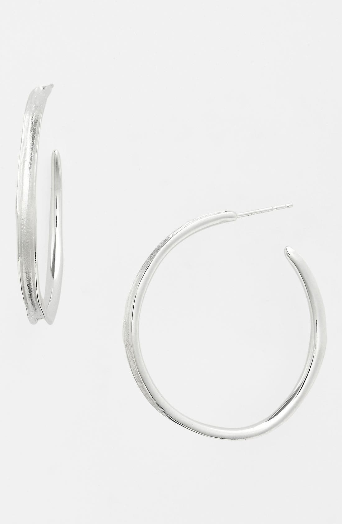 Main Image - Ippolita 'Venezia Links - Number 3' Channel Hoop Earrings
