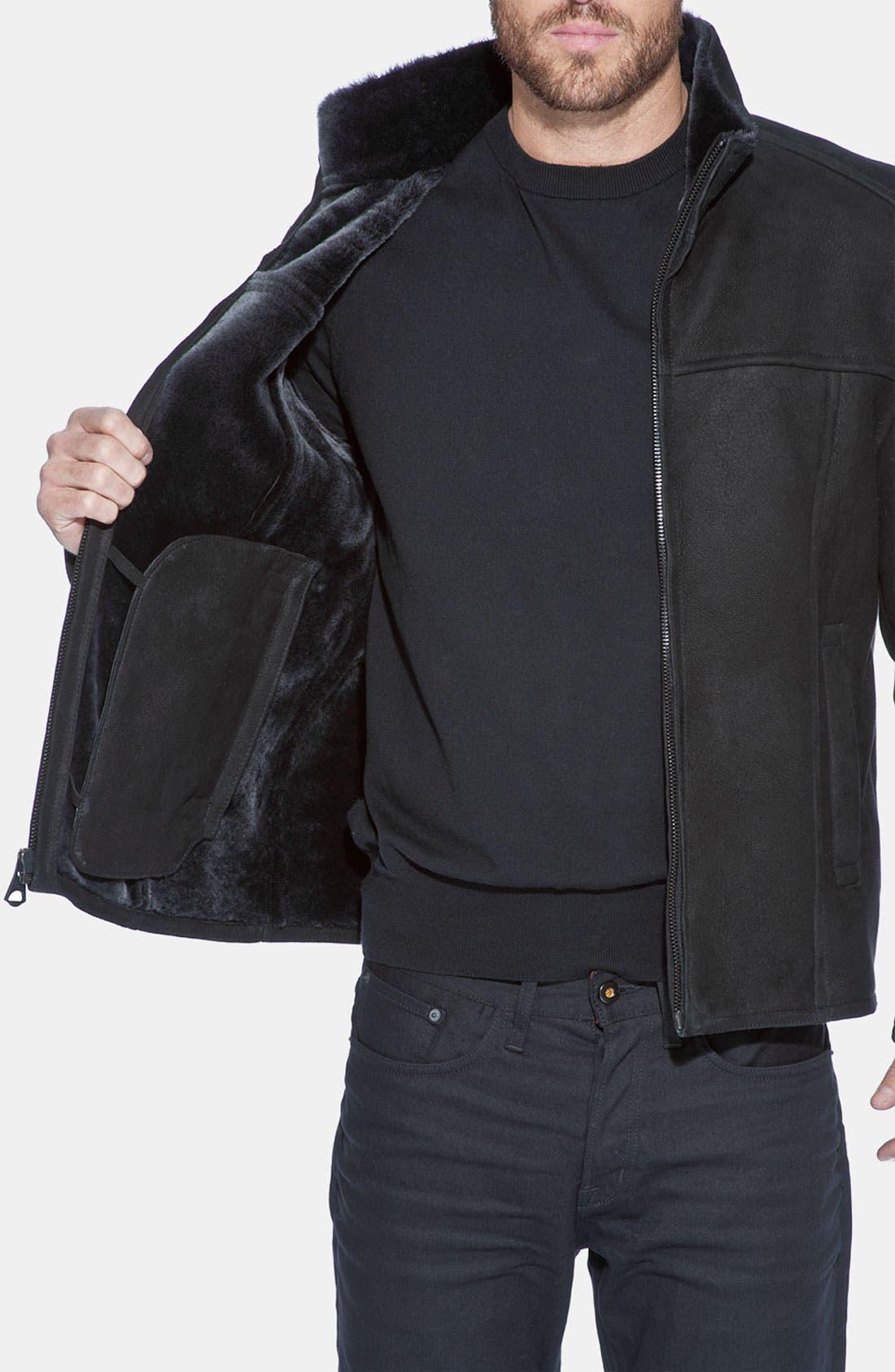 Alternate Image 3  - Andrew Marc 'Oath' Genuine Shearling Jacket