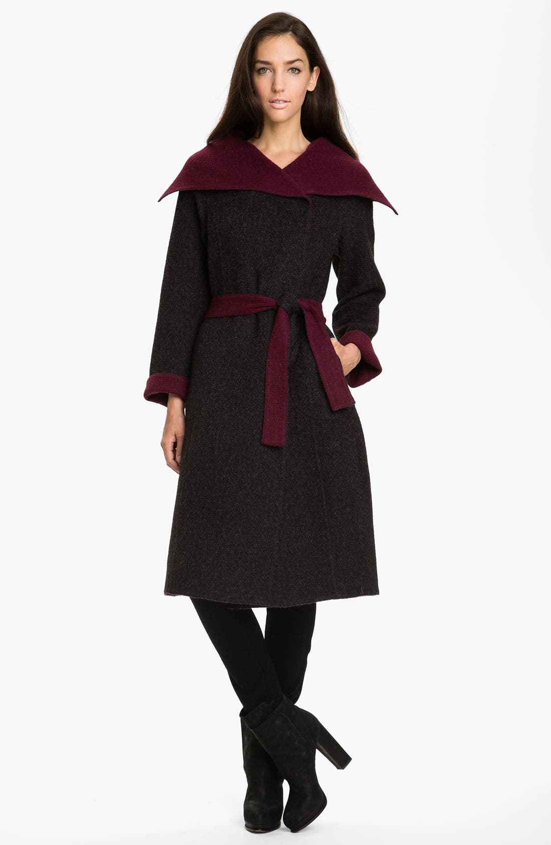 Alternate Image 1 Selected - Beyond Threads Reversible Wrap Coat