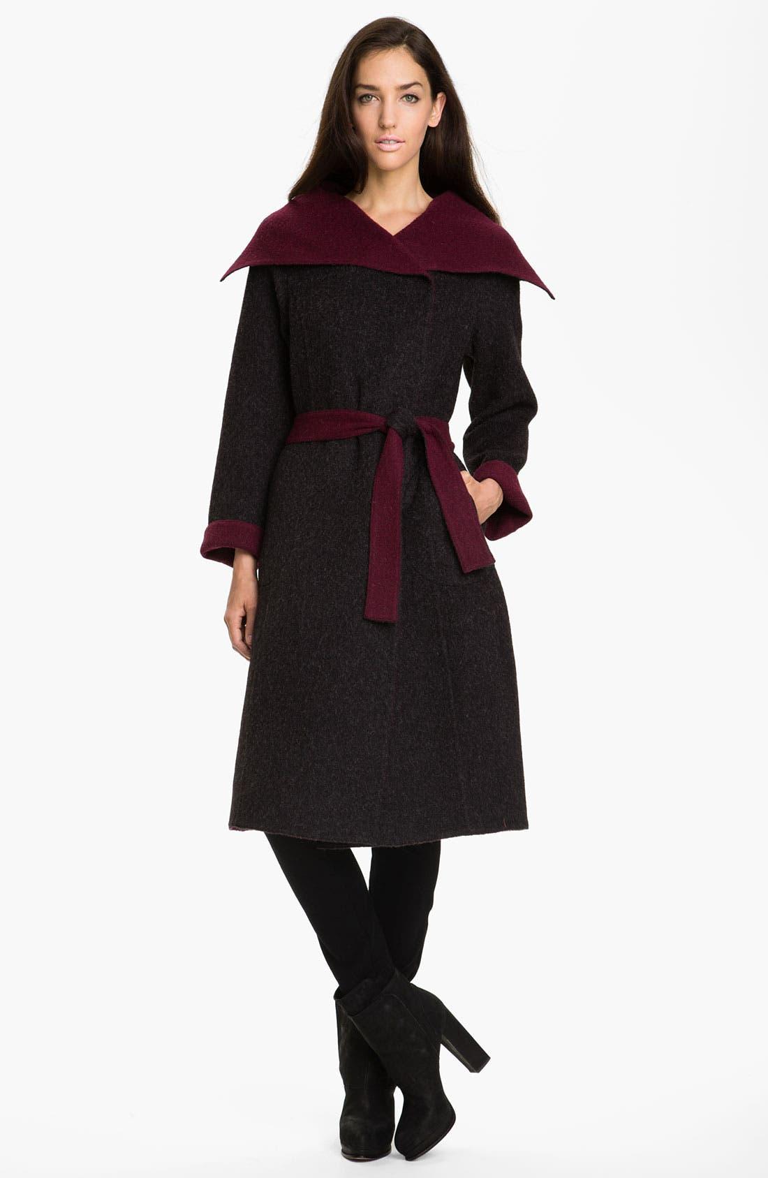 Main Image - Beyond Threads Reversible Wrap Coat