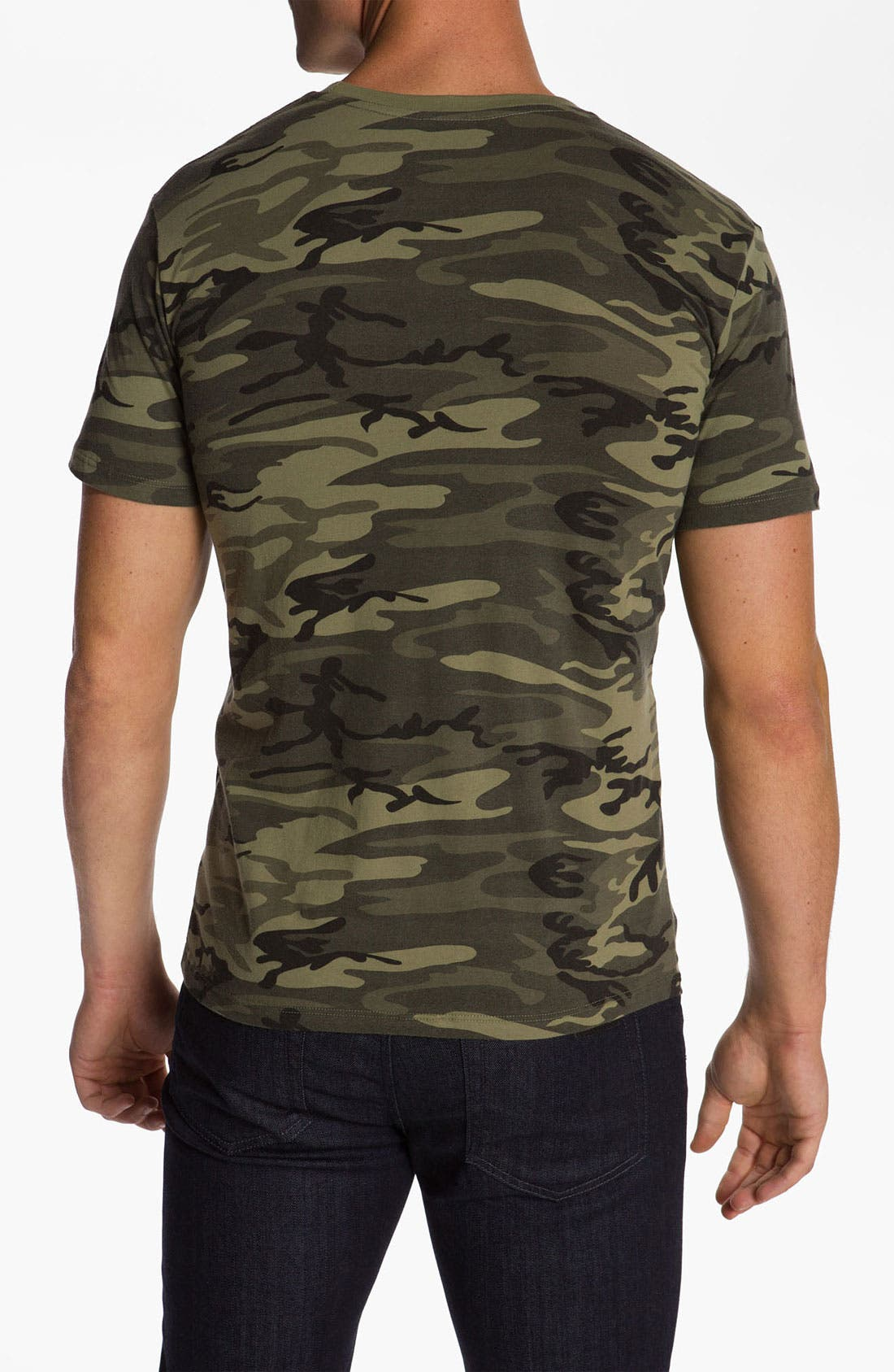 Alternate Image 2  - Obey Camo Pocket T-Shirt