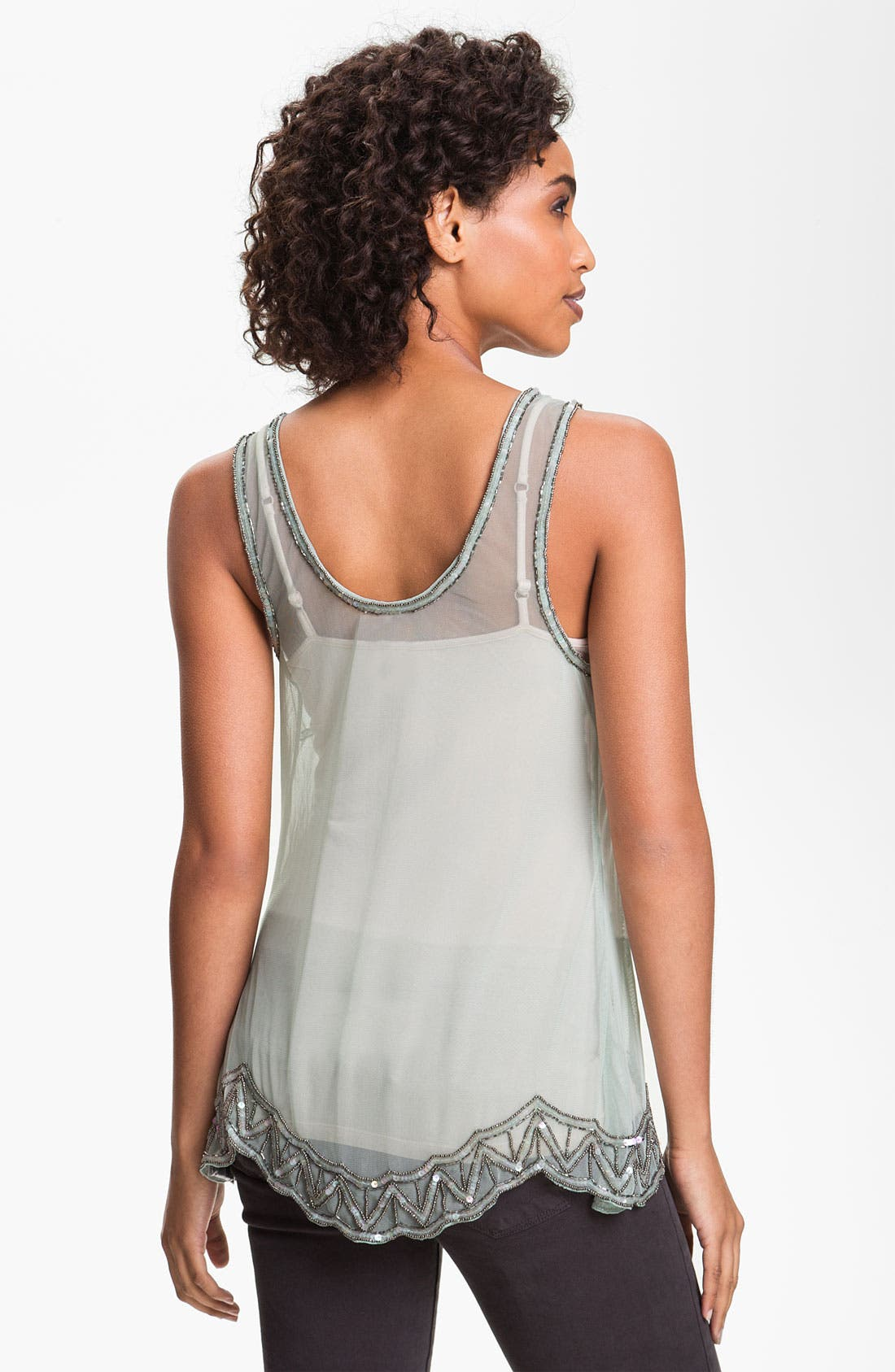 Alternate Image 2  - Willow & Clay Embellished Tank