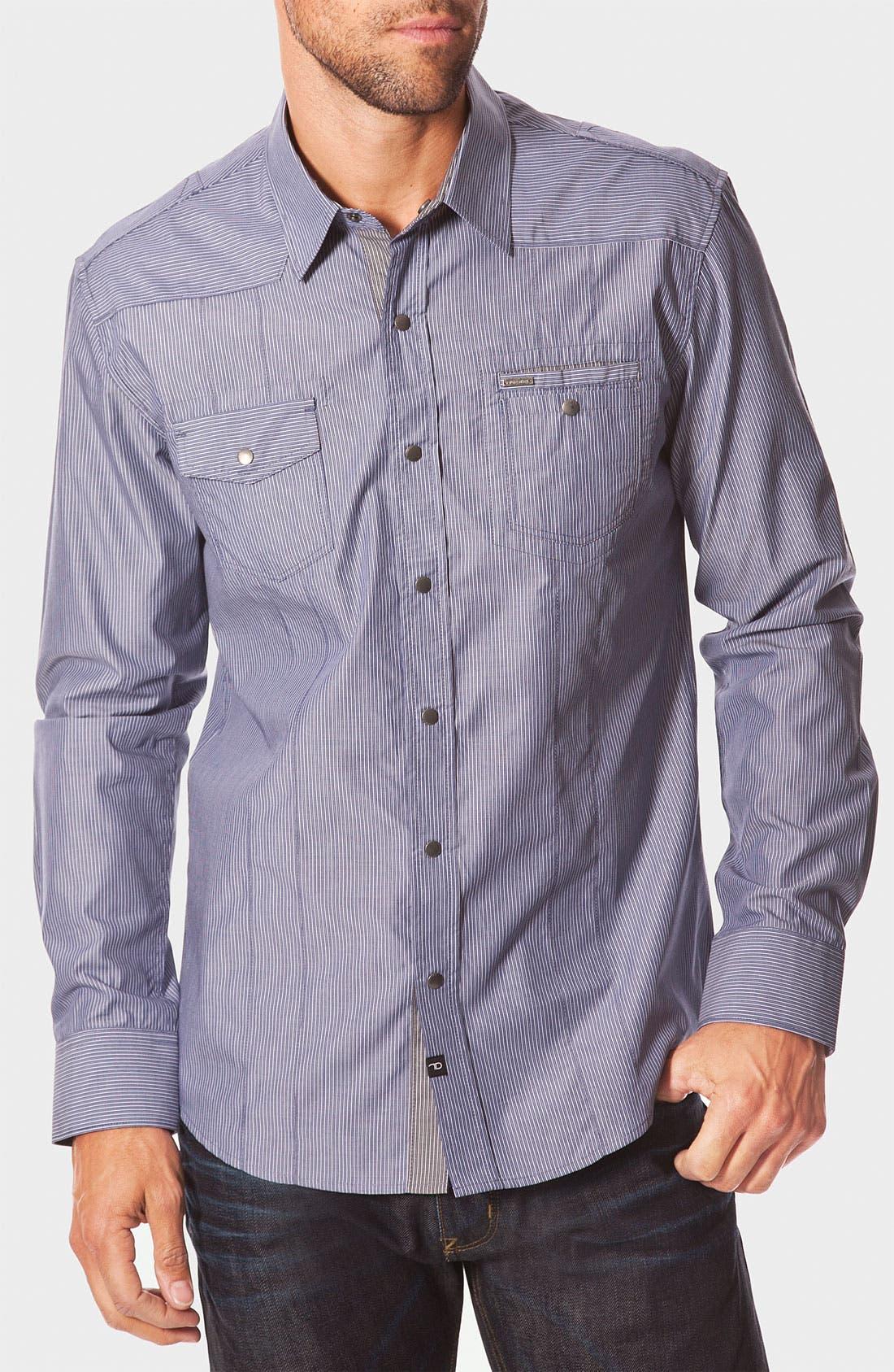 Main Image - 7 Diamonds 'Work Station' Pinstripe Work Shirt