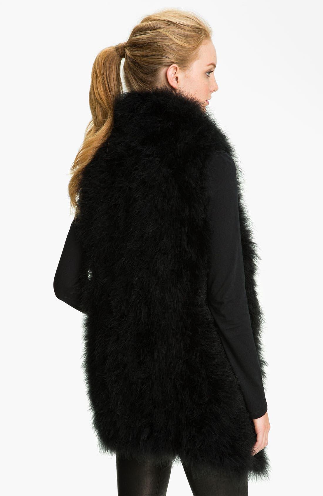 Alternate Image 2  - Trina Turk Feather Vest