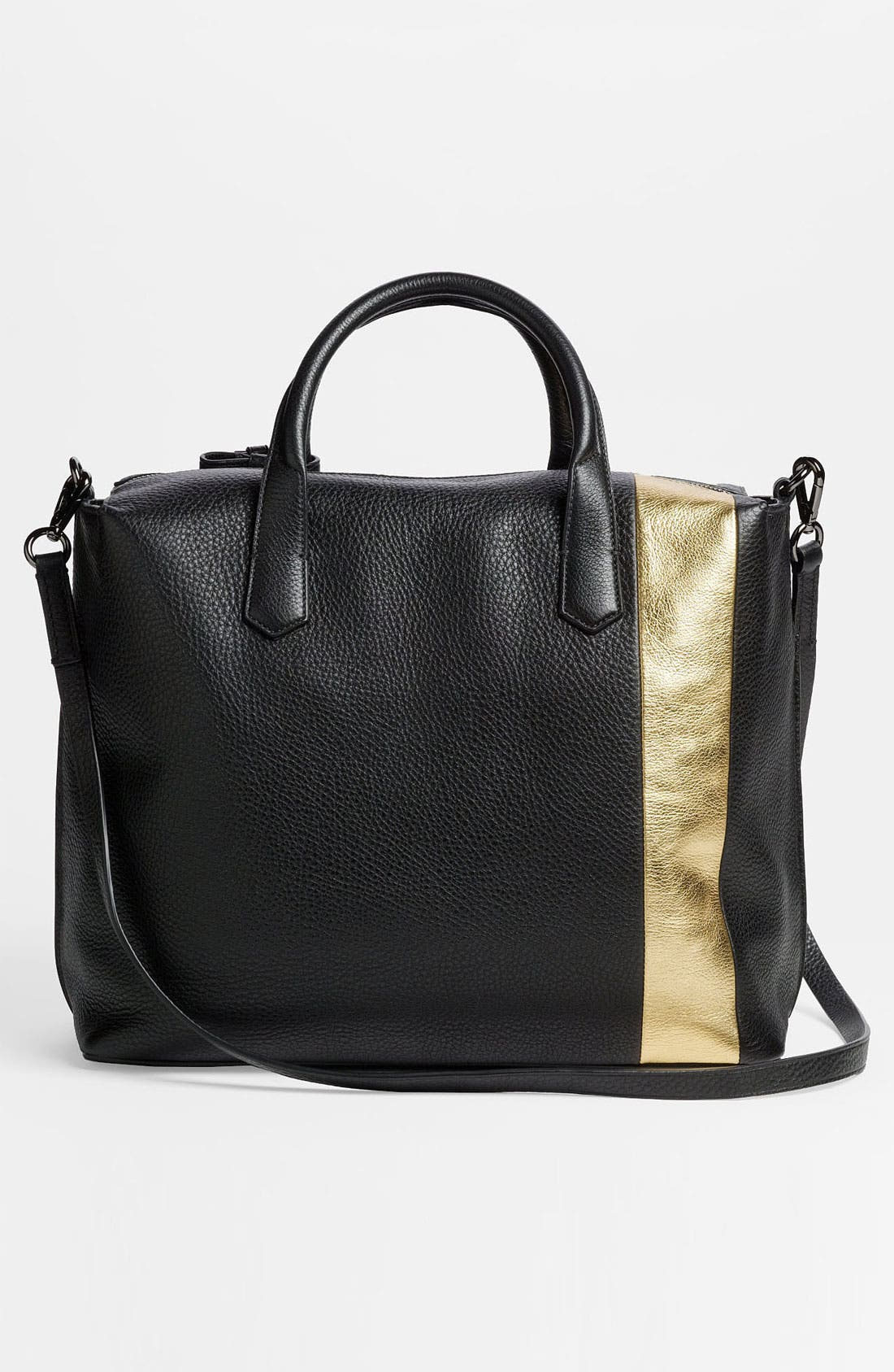 Alternate Image 4  - Reed Krakoff 'Gym Bag' Leather Satchel