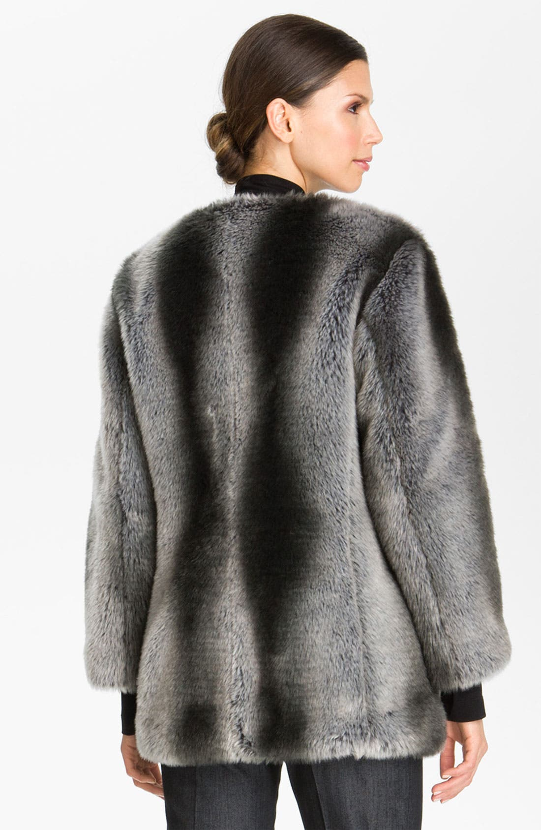 Alternate Image 3  - St. John Collection Faux Fur Coat (Nordstrom Exclusive)