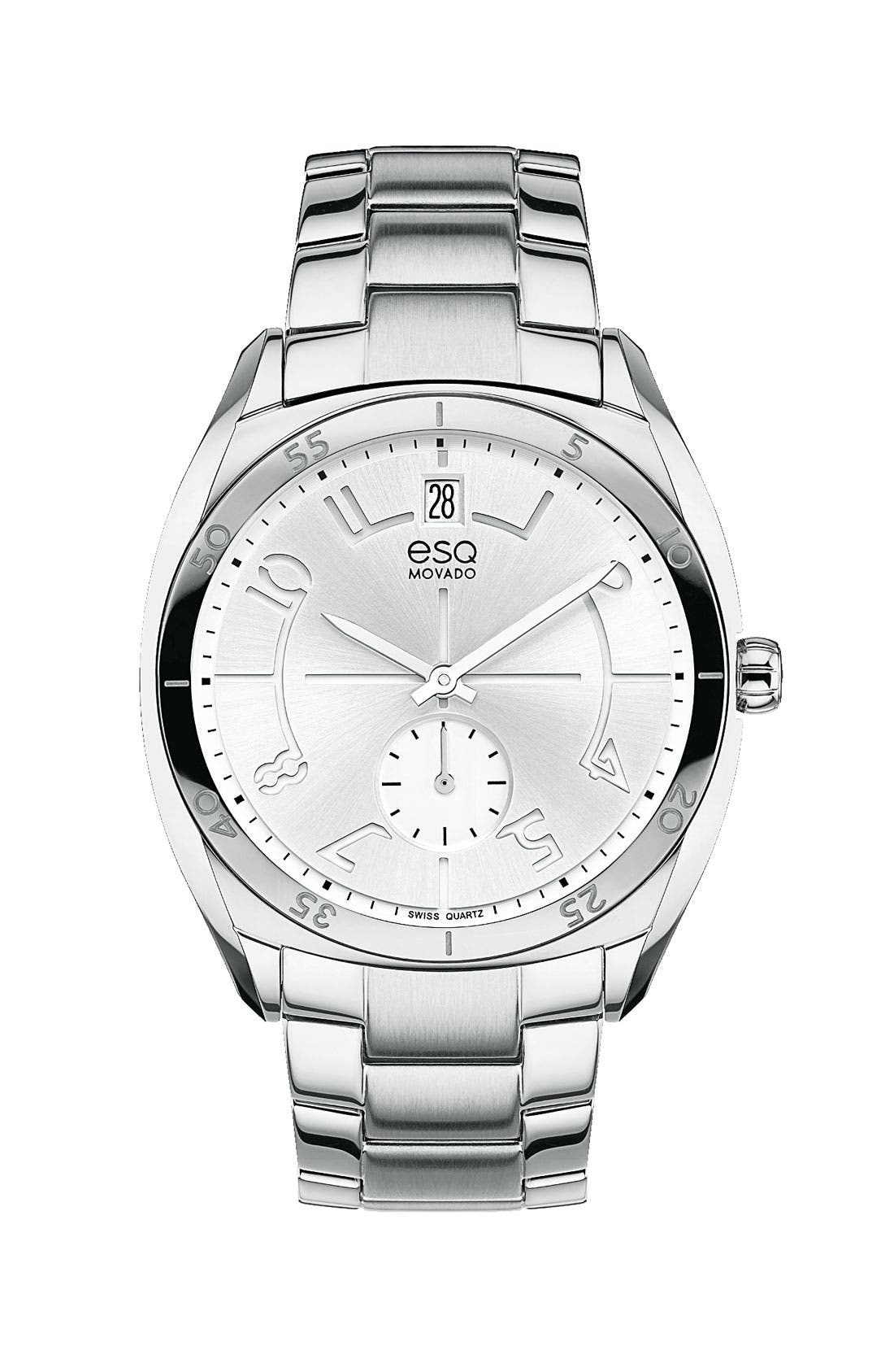 Alternate Image 1 Selected - ESQ Movado 'Origin' Round Bracelet Watch, 36mm