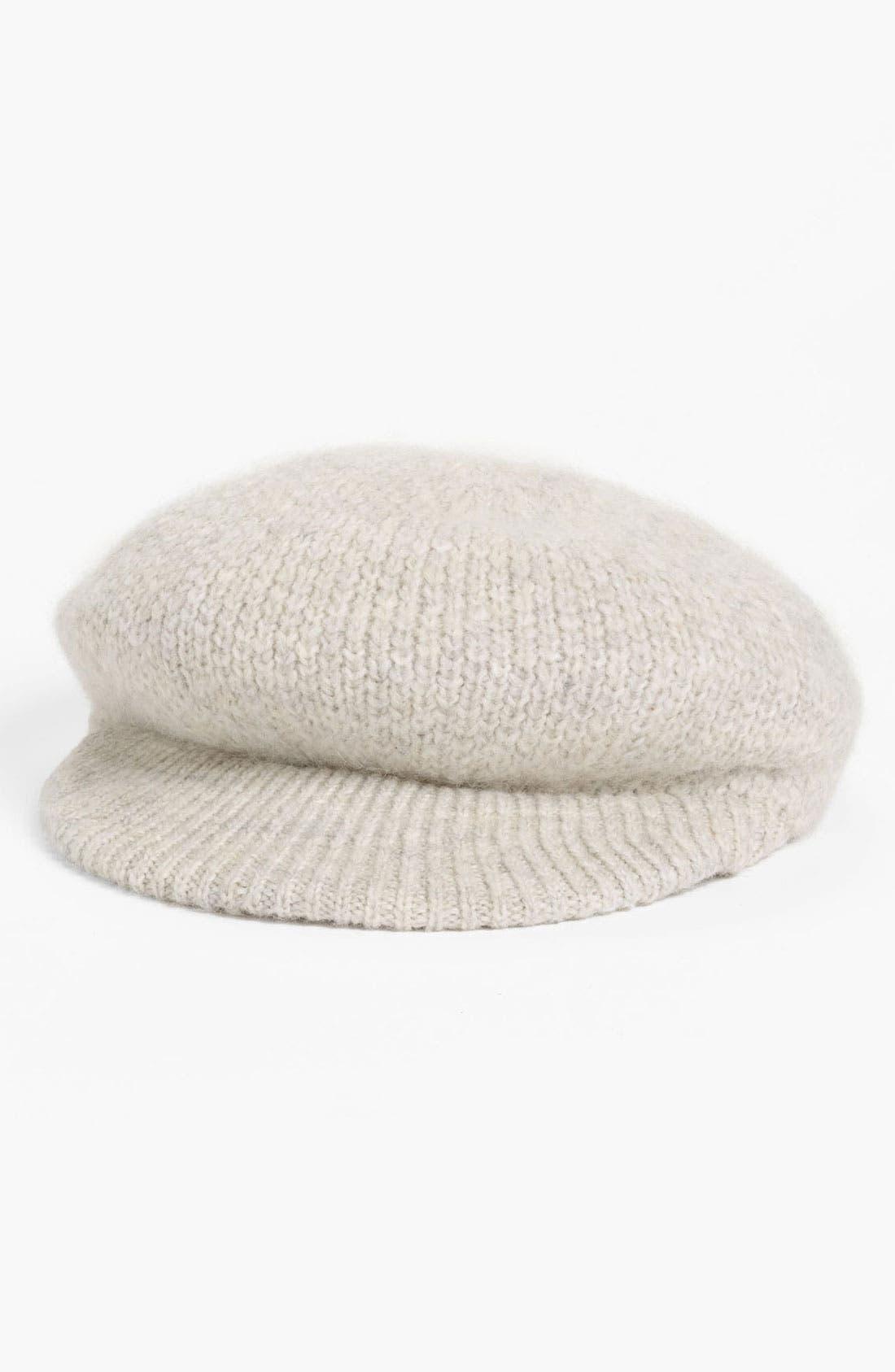 Main Image - Lauren Ralph Lauren Newsboy Hat