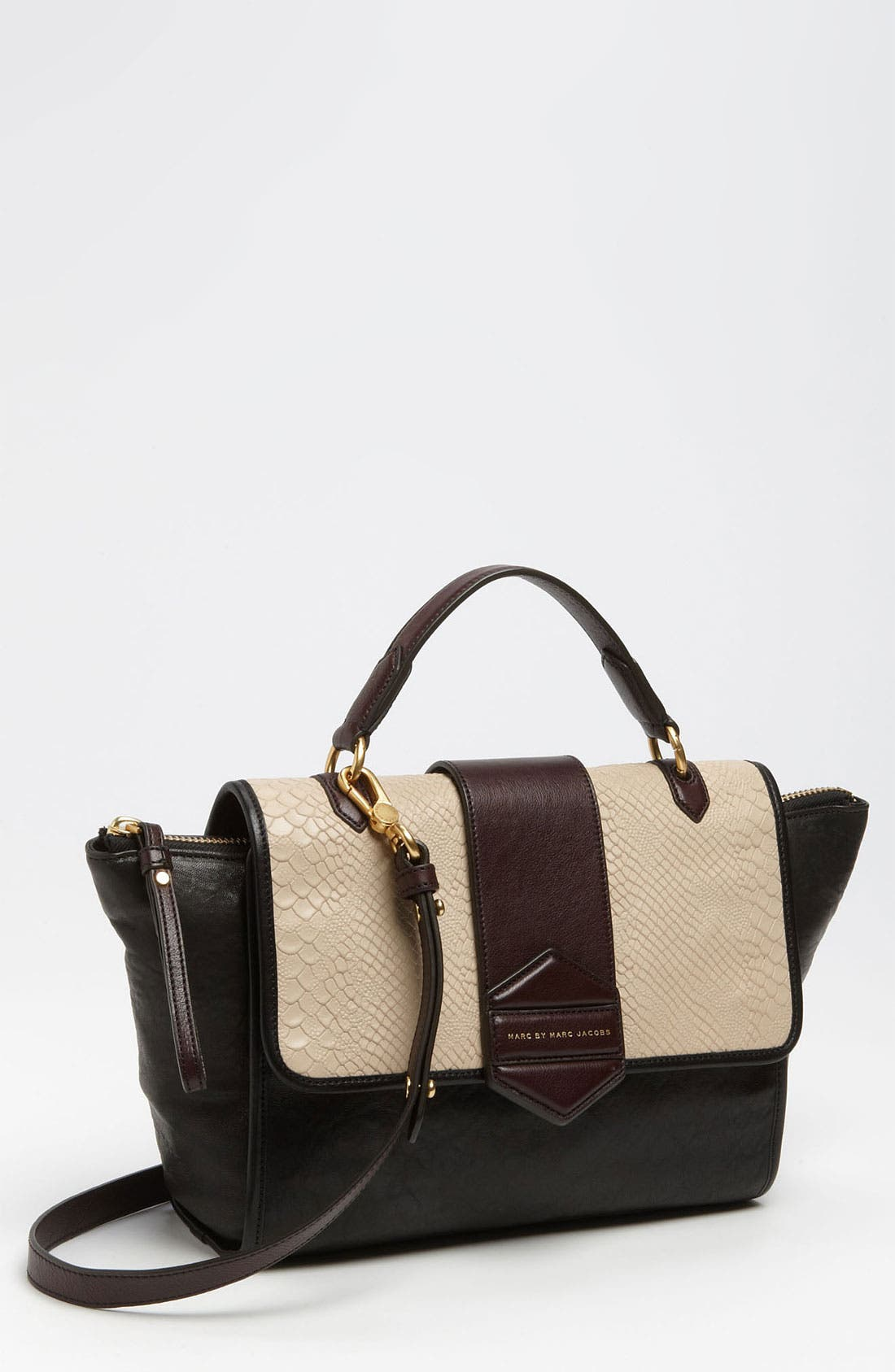 Alternate Image 1 Selected - MARC BY MARC JACOBS 'Flipping Out' Leather Satchel